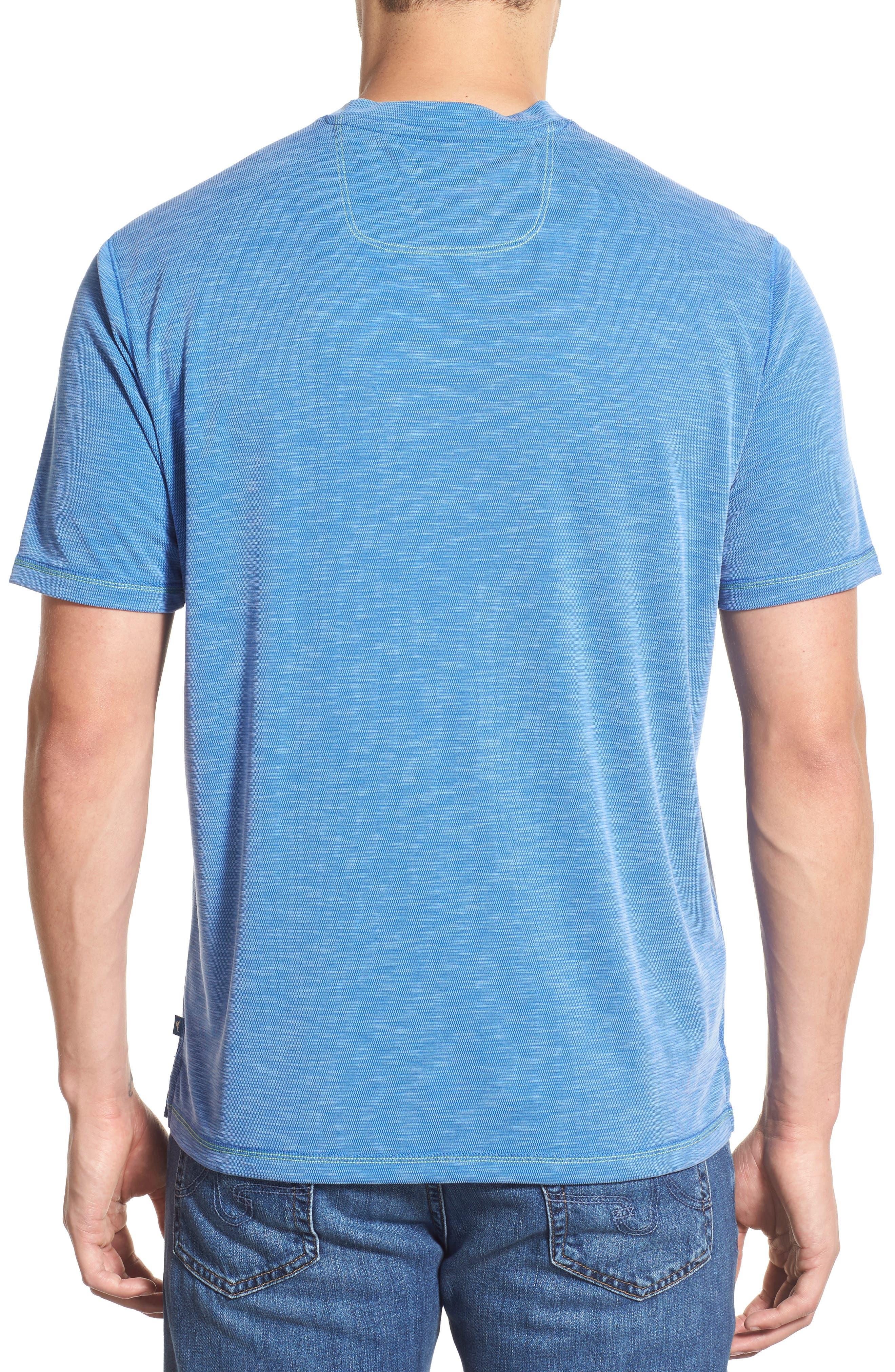 Paradise Around T-Shirt,                             Alternate thumbnail 2, color,                             Bright Cobalt