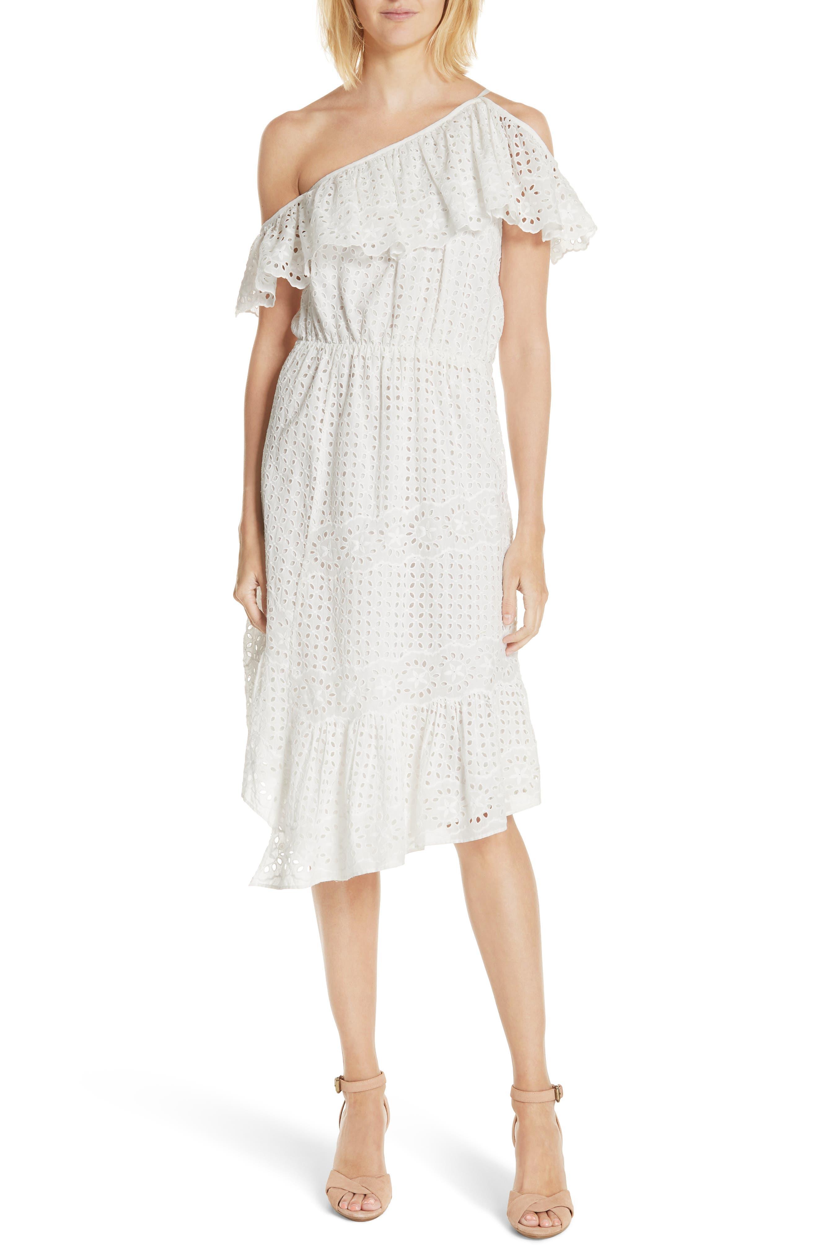 Joie Corynn Eyelet Dress