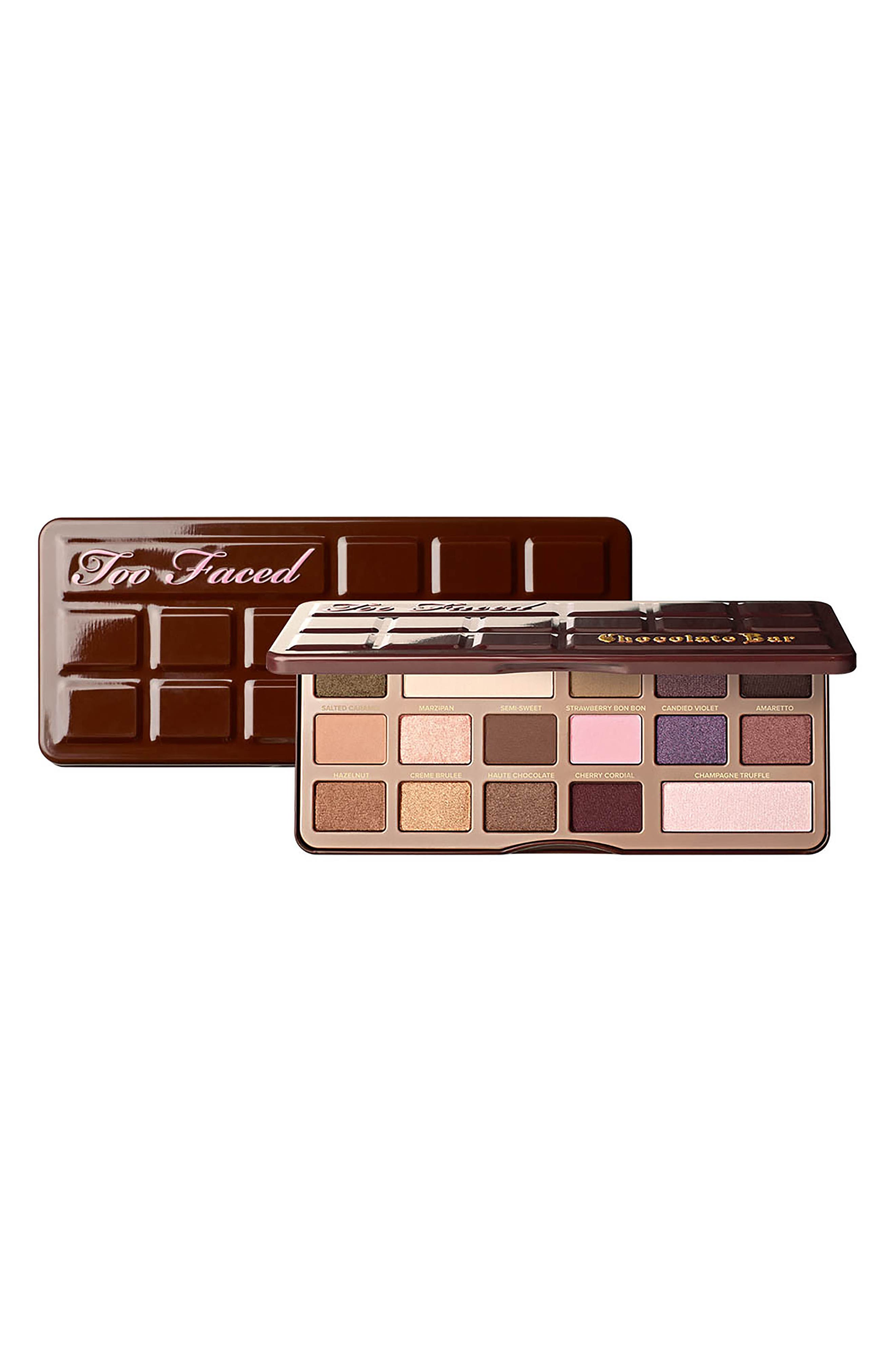 Chocolate Bar Eyeshadow Palette,                             Alternate thumbnail 6, color,                             No Color