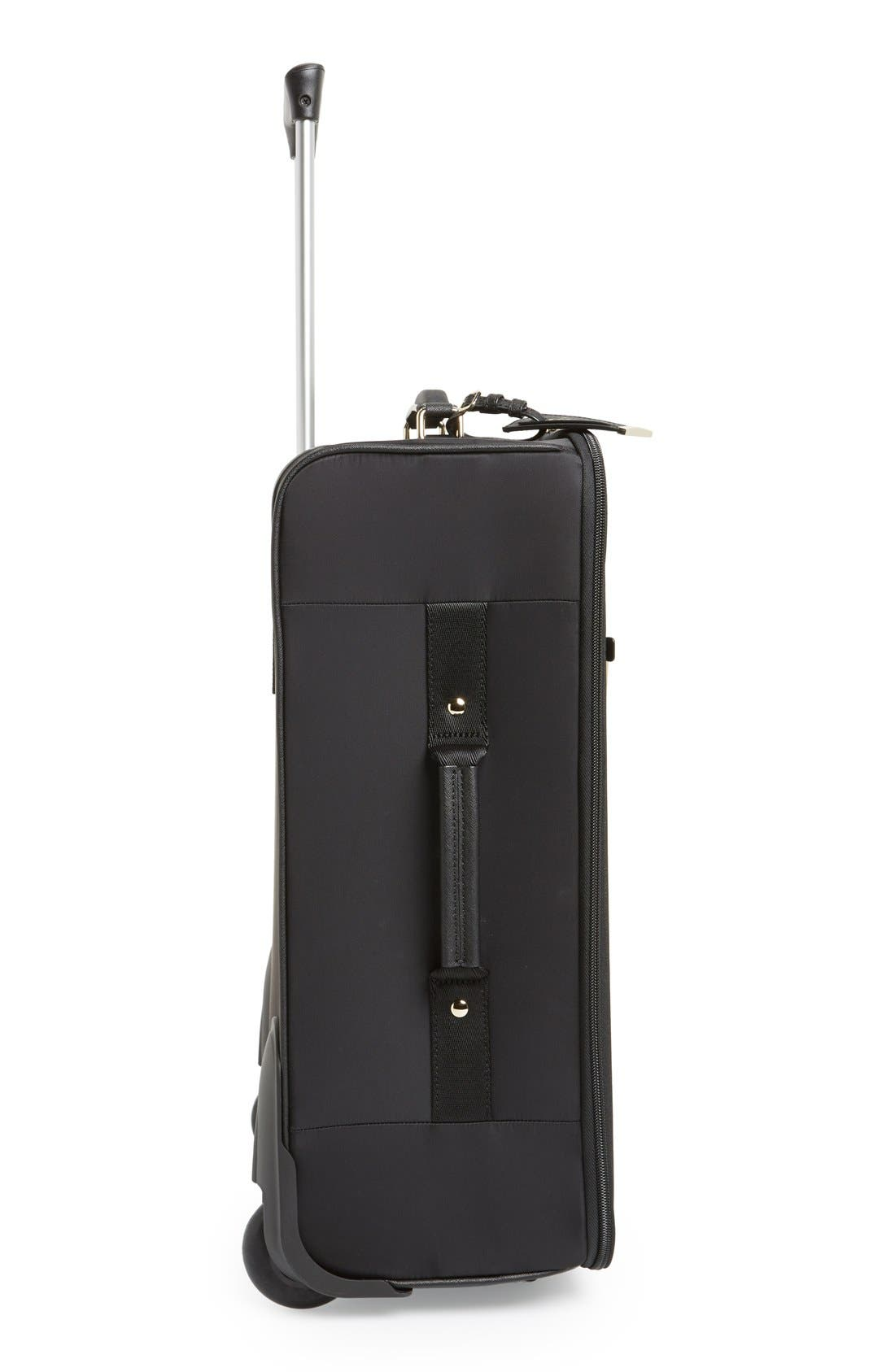 Alternate Image 4  - kate spade new york 'classic' nylon international two-wheel carry-on suitcase (20 Inch)