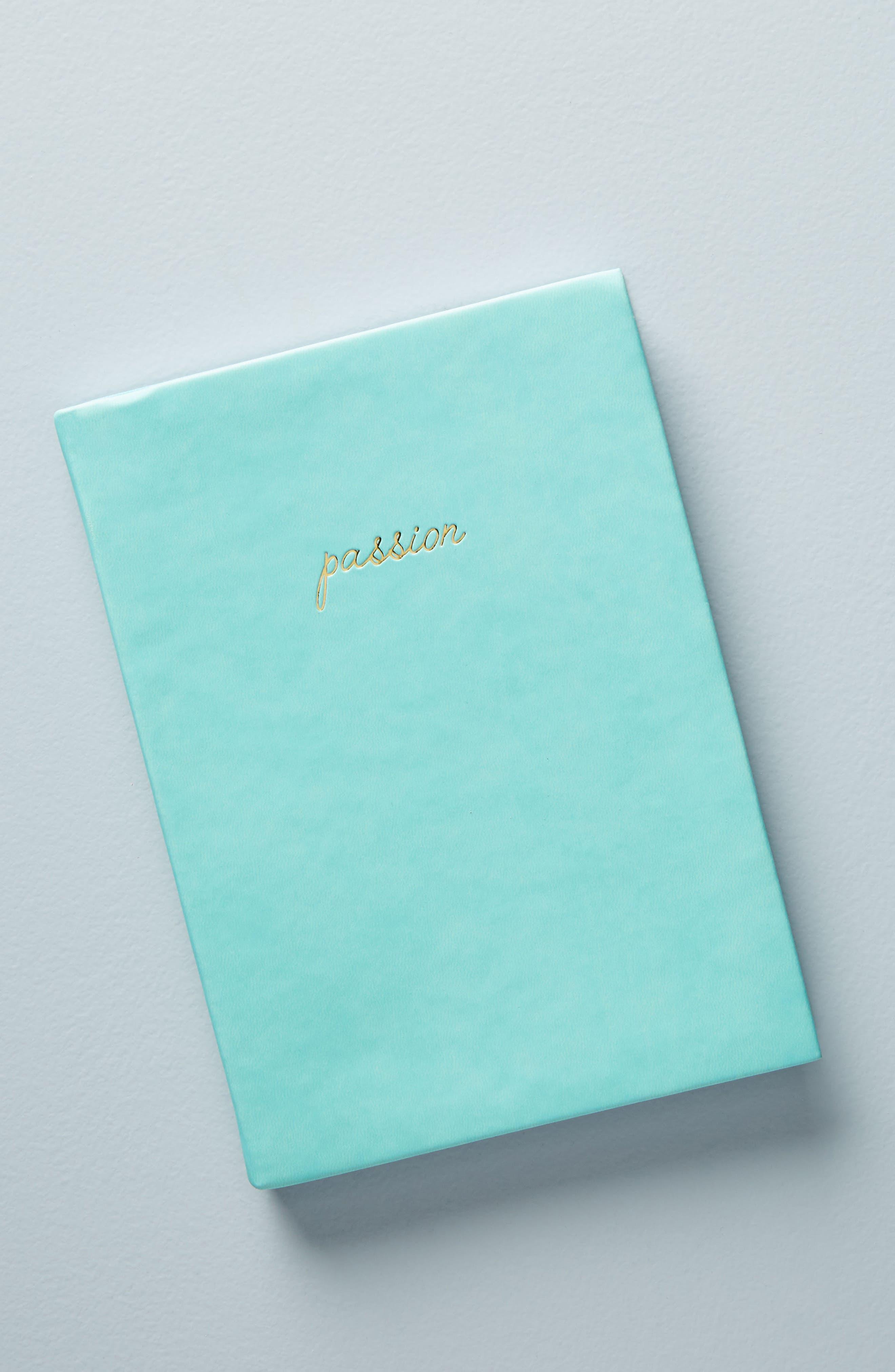 Passion & Plan Journal,                             Main thumbnail 1, color,                             Mint