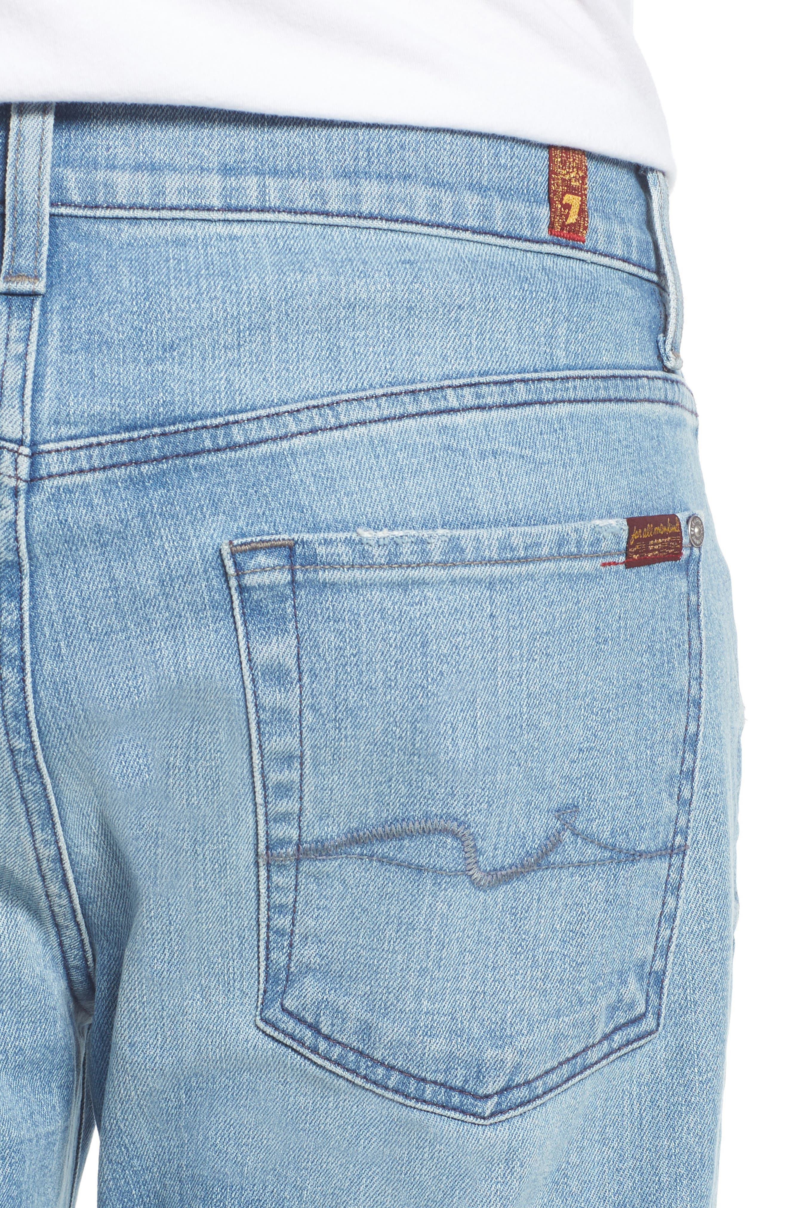 Austyn Relaxed Fit Jeans,                             Alternate thumbnail 4, color,                             Omega