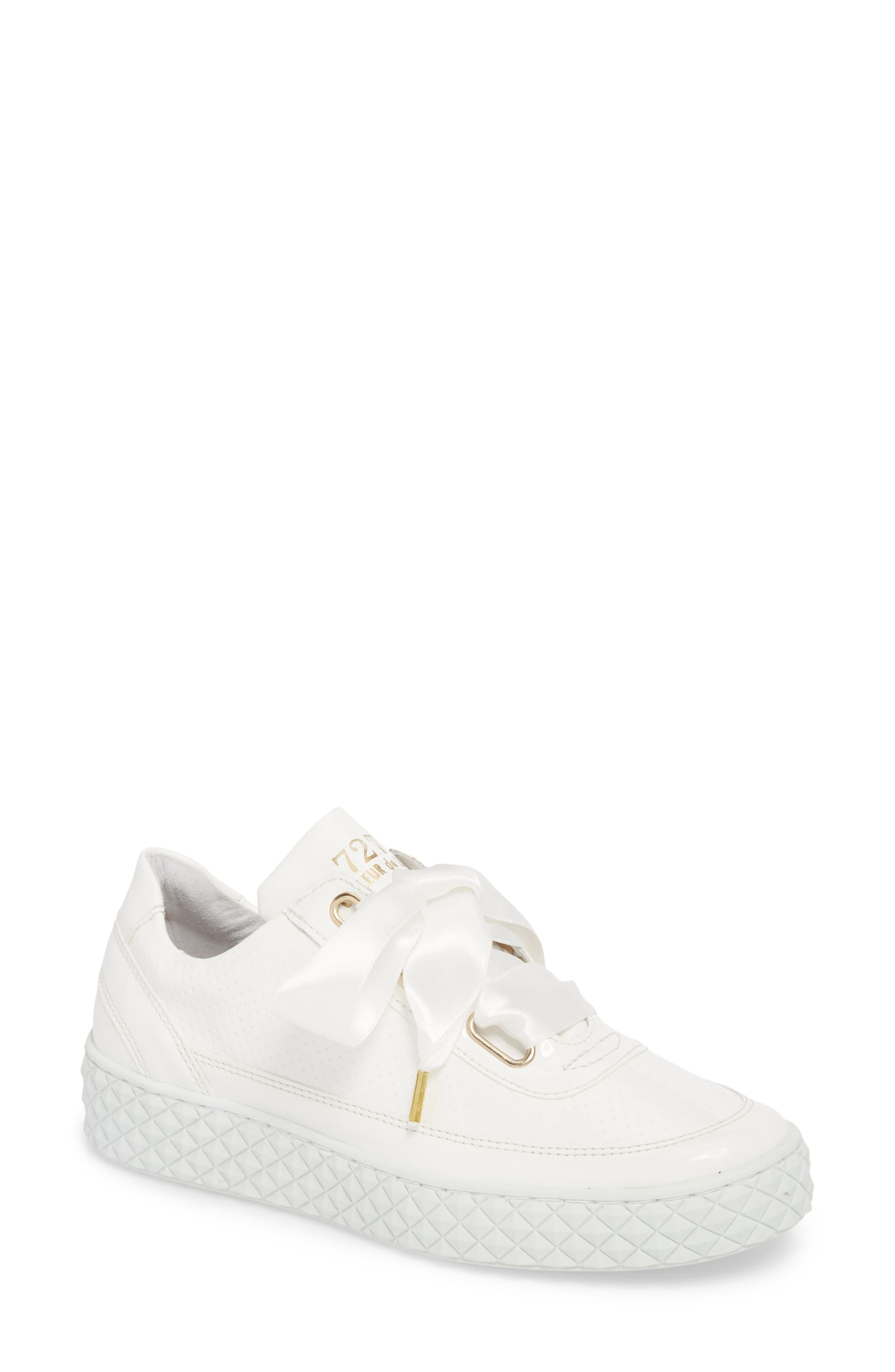 Montreal II Sneaker,                             Main thumbnail 1, color,                             White Leather