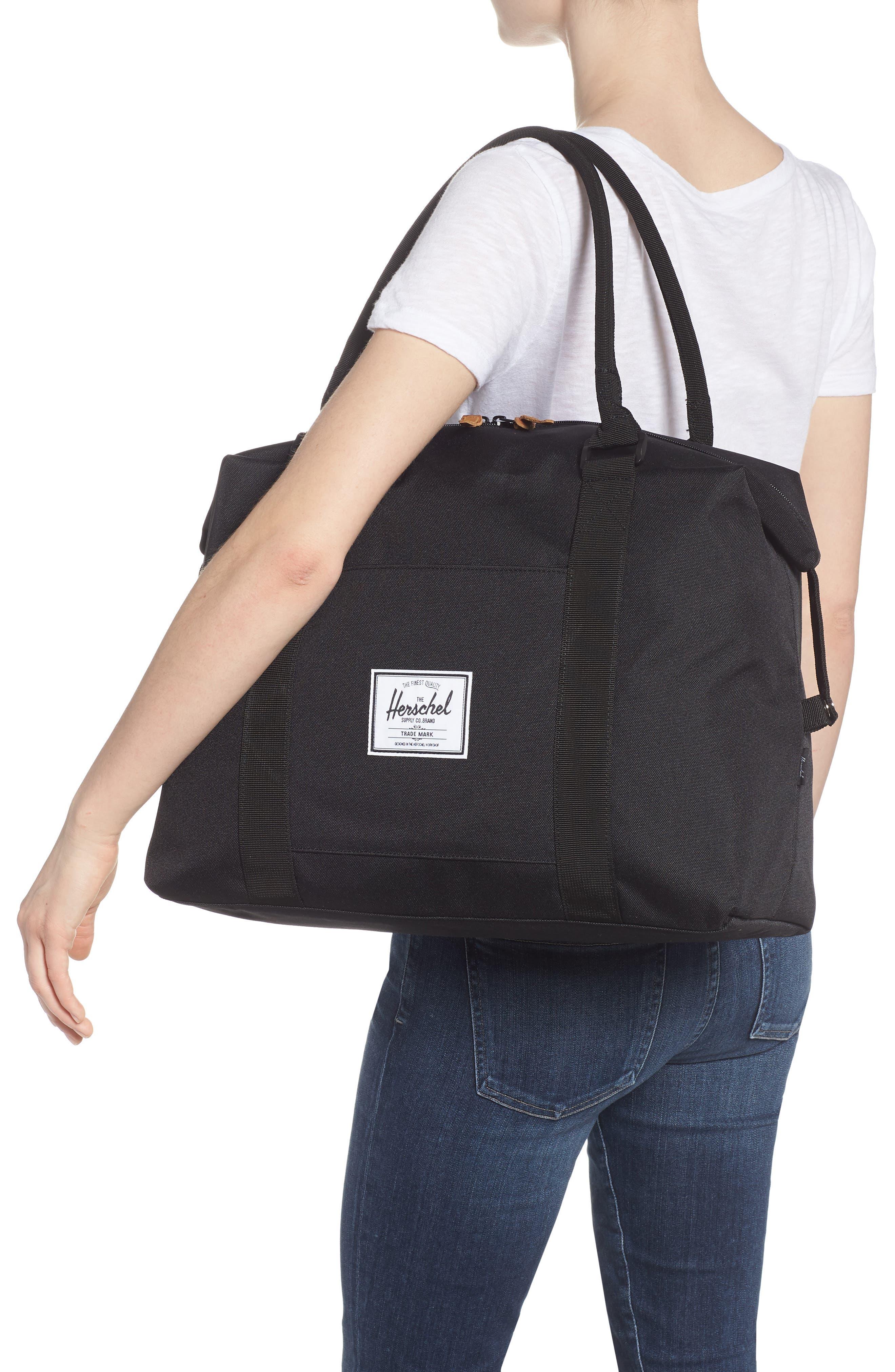 Strand Duffel Bag,                             Alternate thumbnail 2, color,                             Black