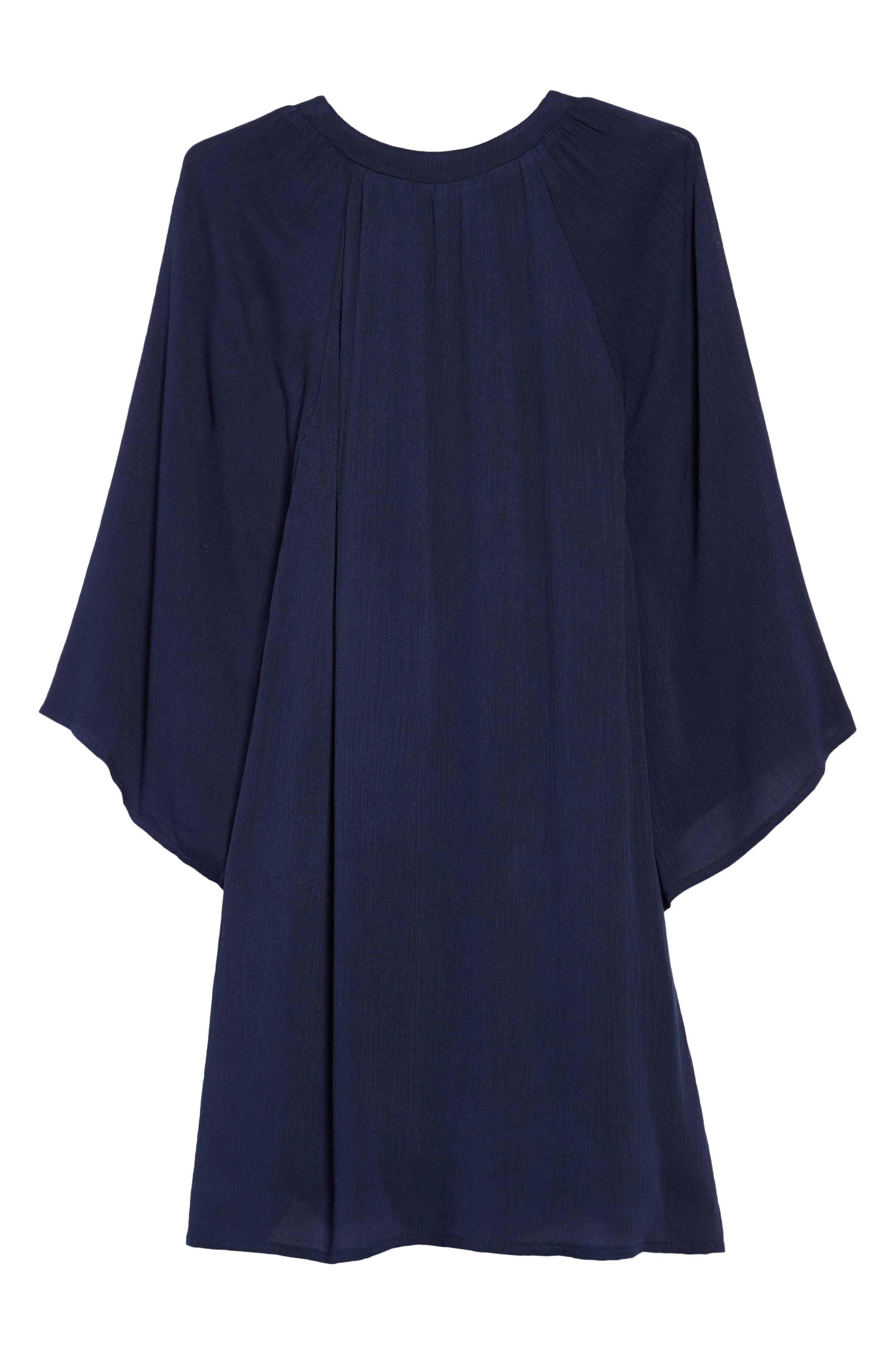 Vivienne Dress,                             Alternate thumbnail 2, color,                             Navy