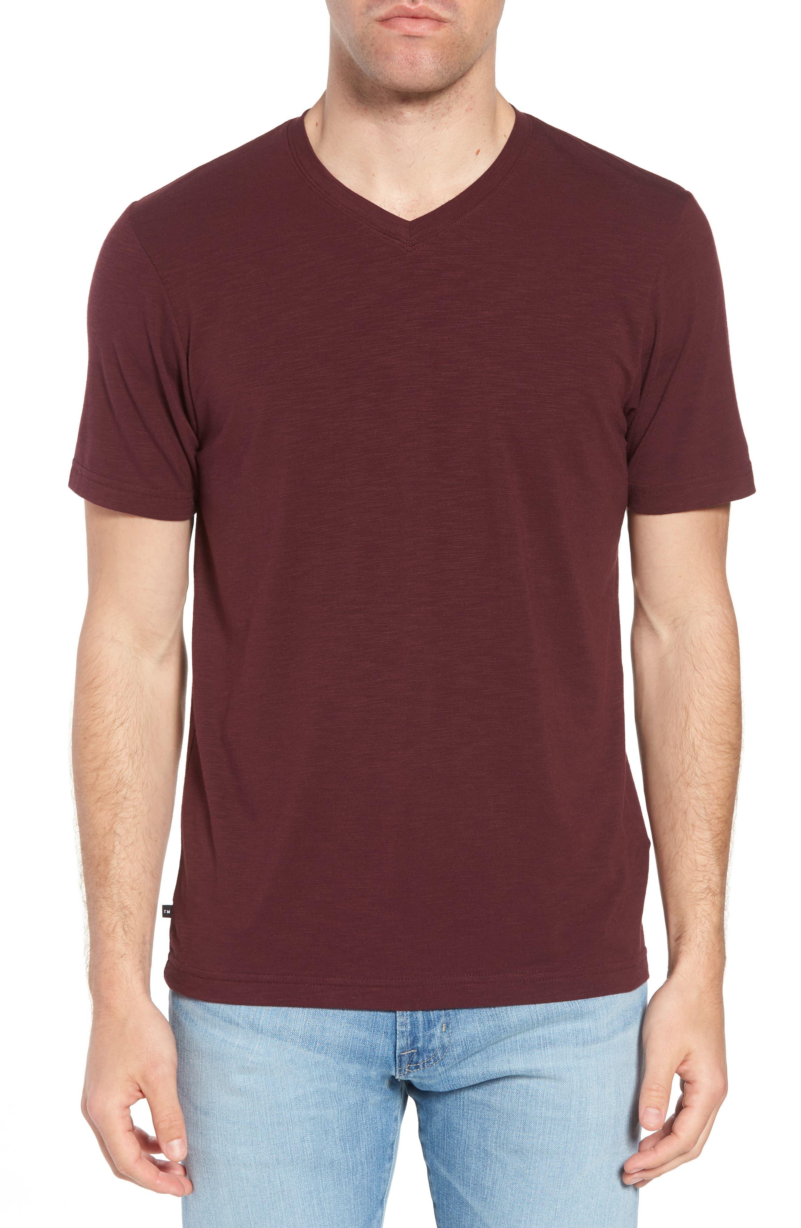 Main Image - Travis Mathew 'Trumbull' Trim Fit Slubbed T-Shirt