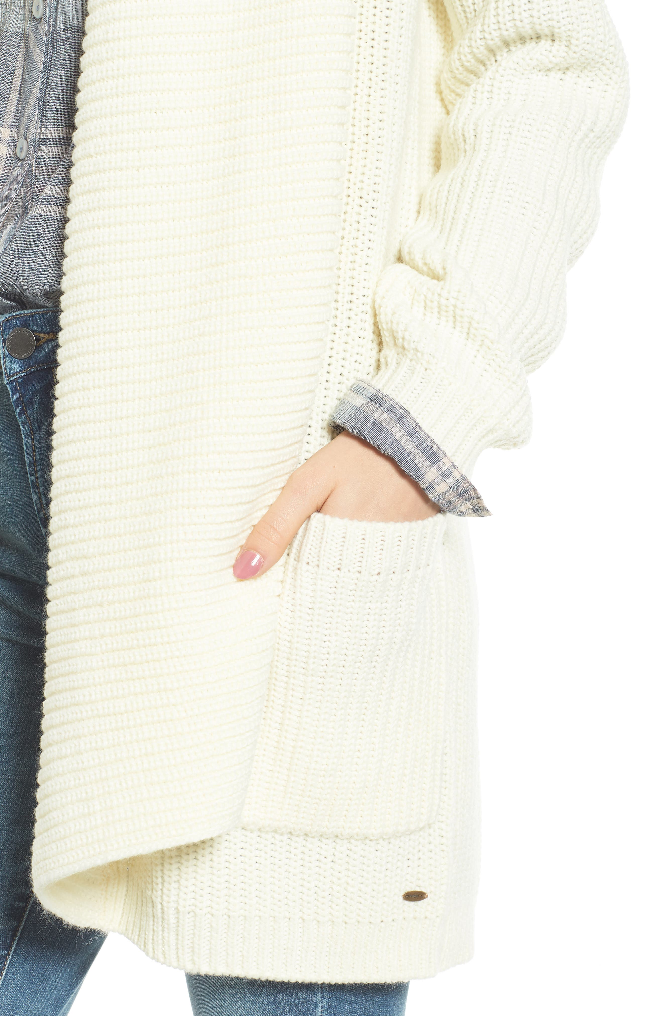 Galley Cardigan,                             Alternate thumbnail 4, color,                             Naked