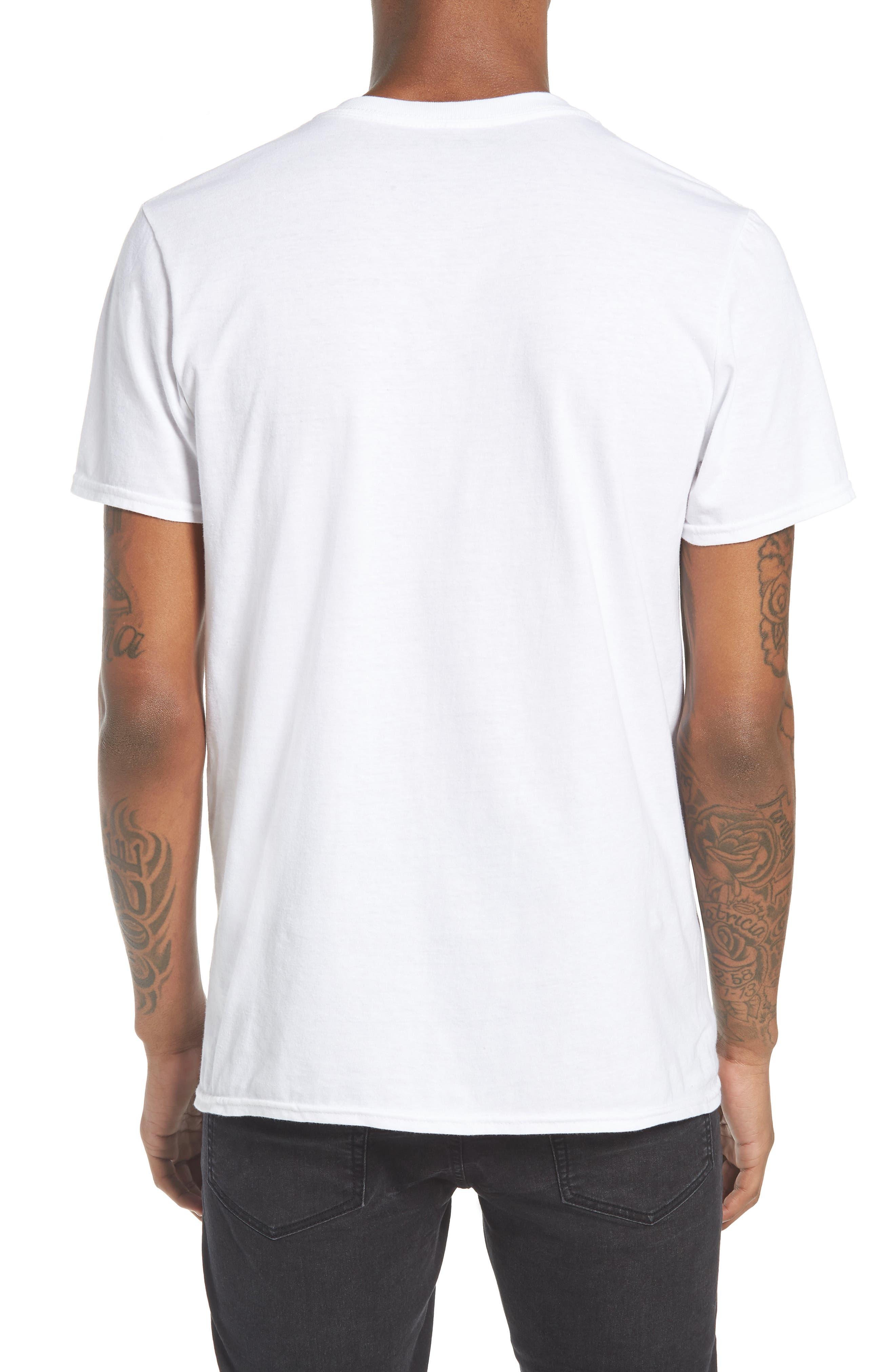 Grateful Dead T-Shirt,                             Alternate thumbnail 2, color,                             White Grateful Dead