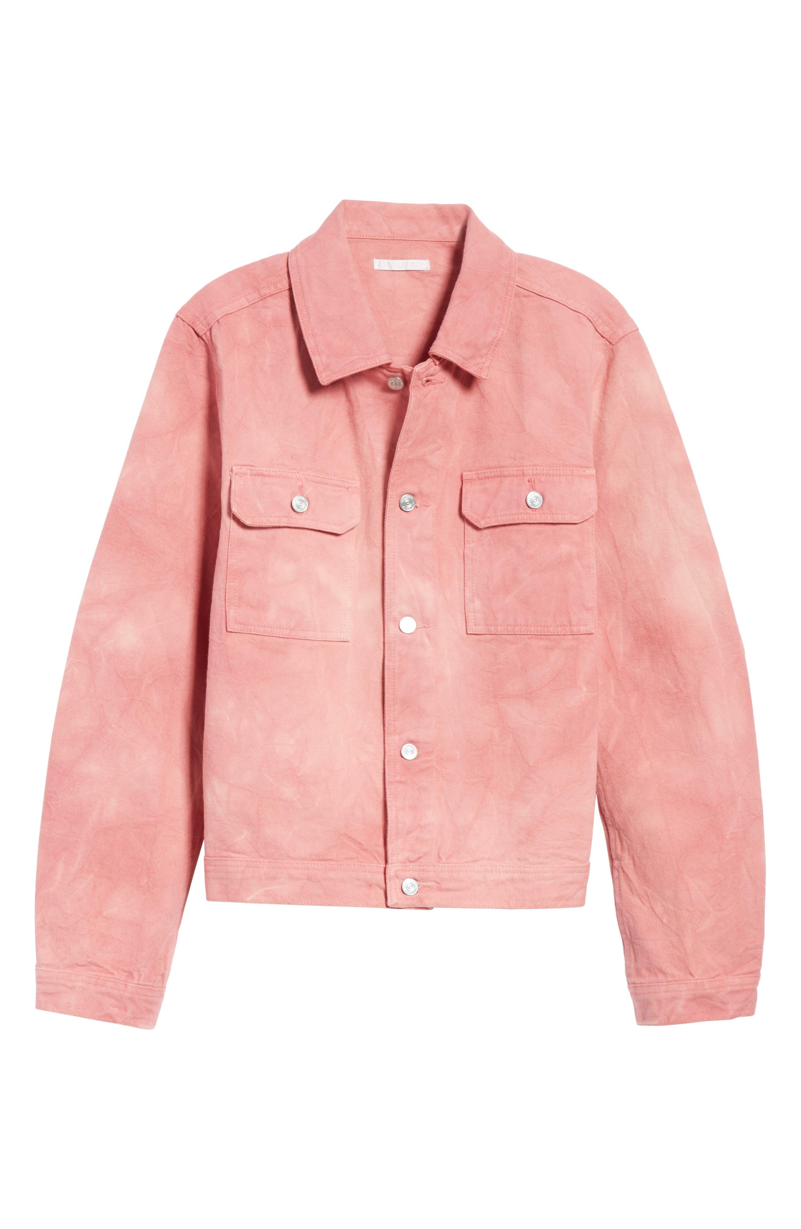 Dye Jacket,                             Alternate thumbnail 6, color,                             Pink