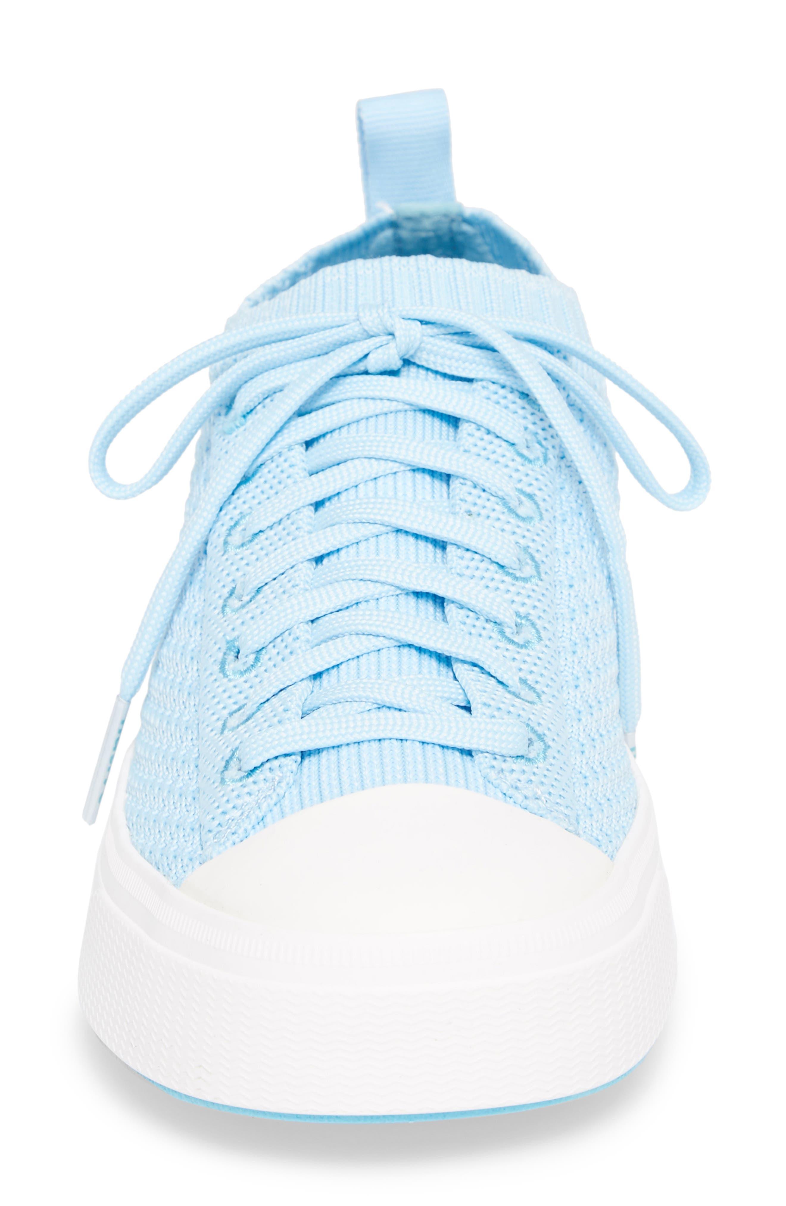 Jefferson 2.0 Liteknit Sneaker,                             Alternate thumbnail 4, color,                             Sky Blue/ Shell White