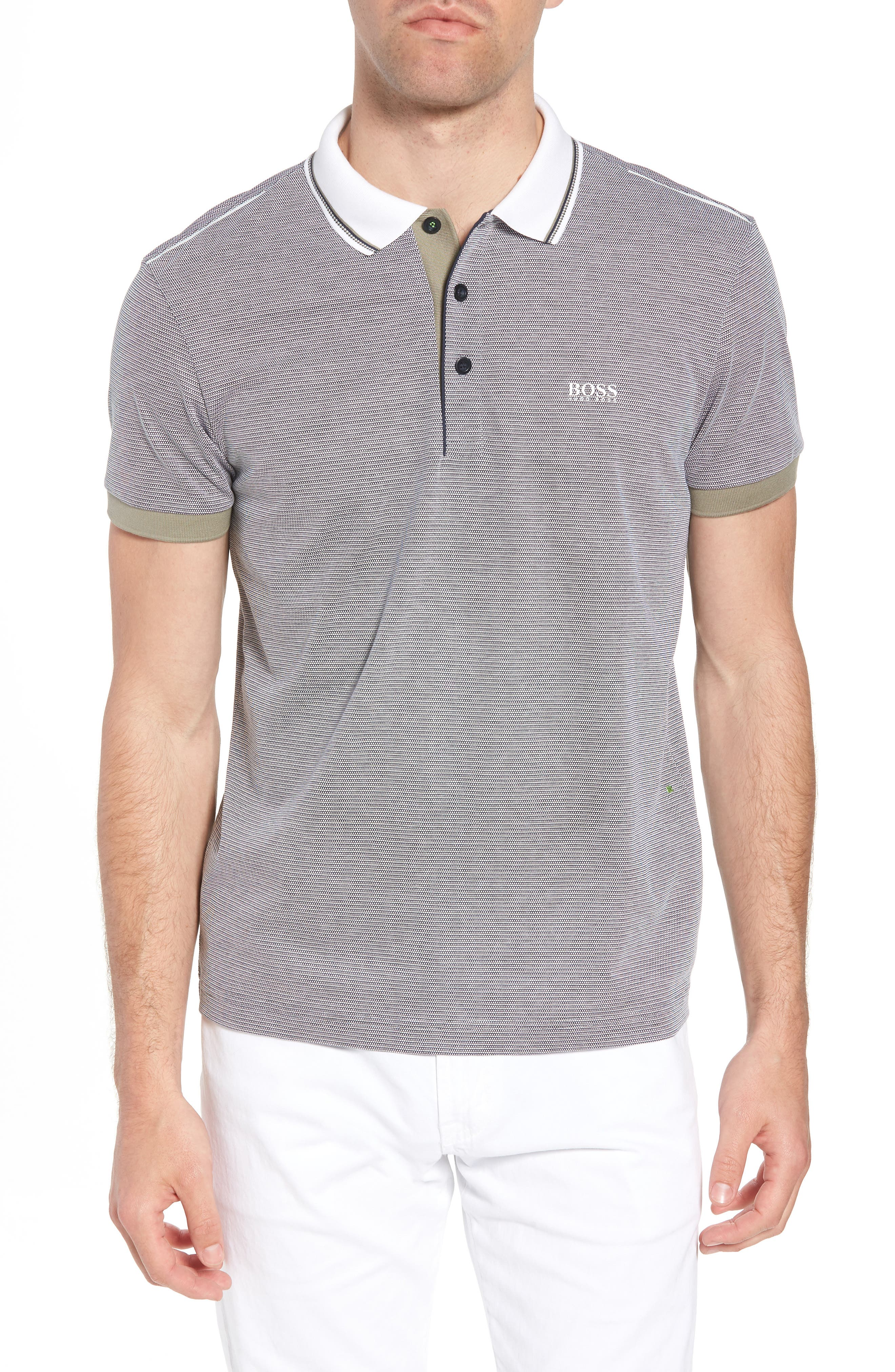 Paddy Regular Fit Polo,                         Main,                         color, Blue