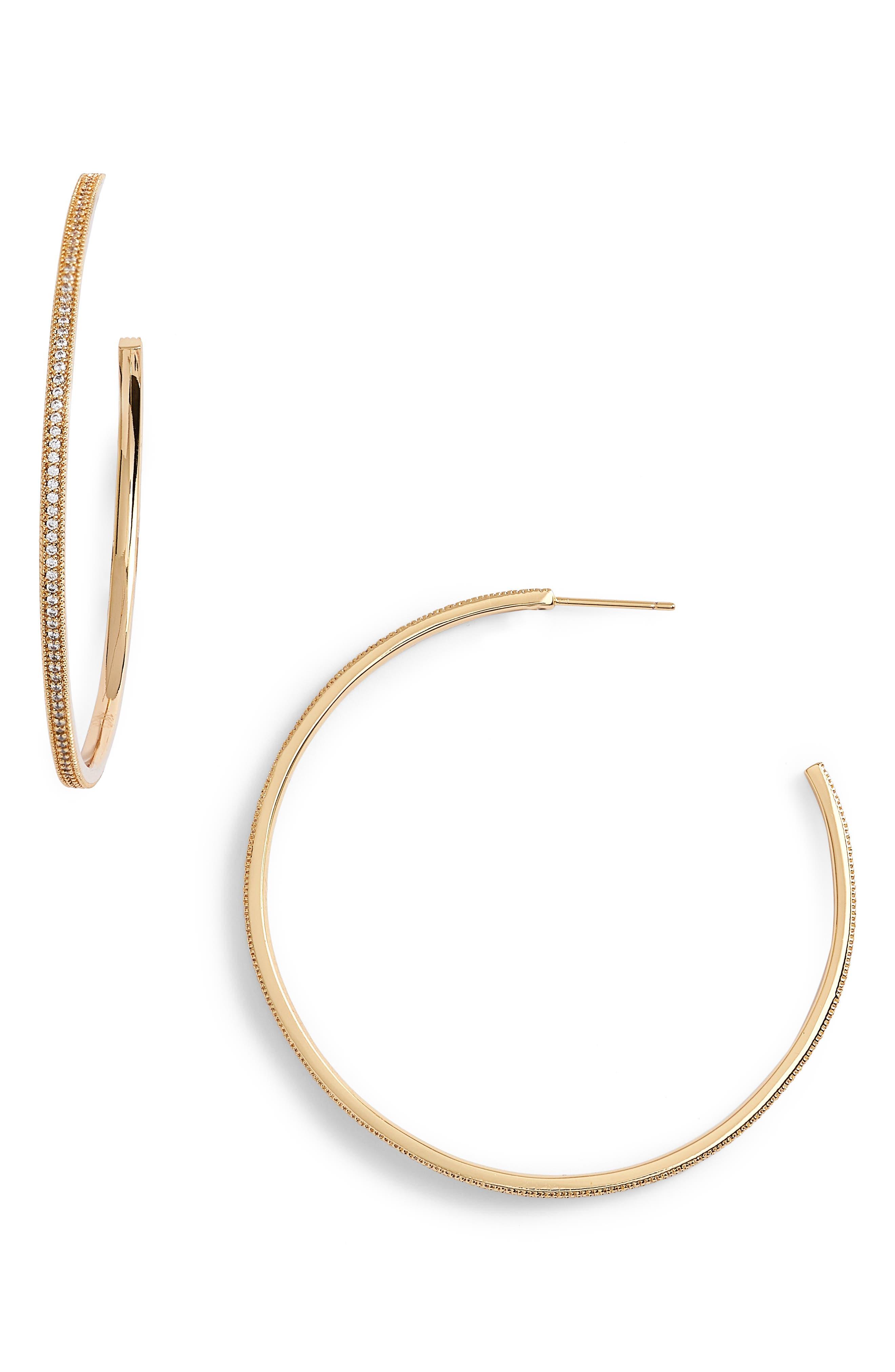 Lulu DK x We Wore What Large Hoop Earrings