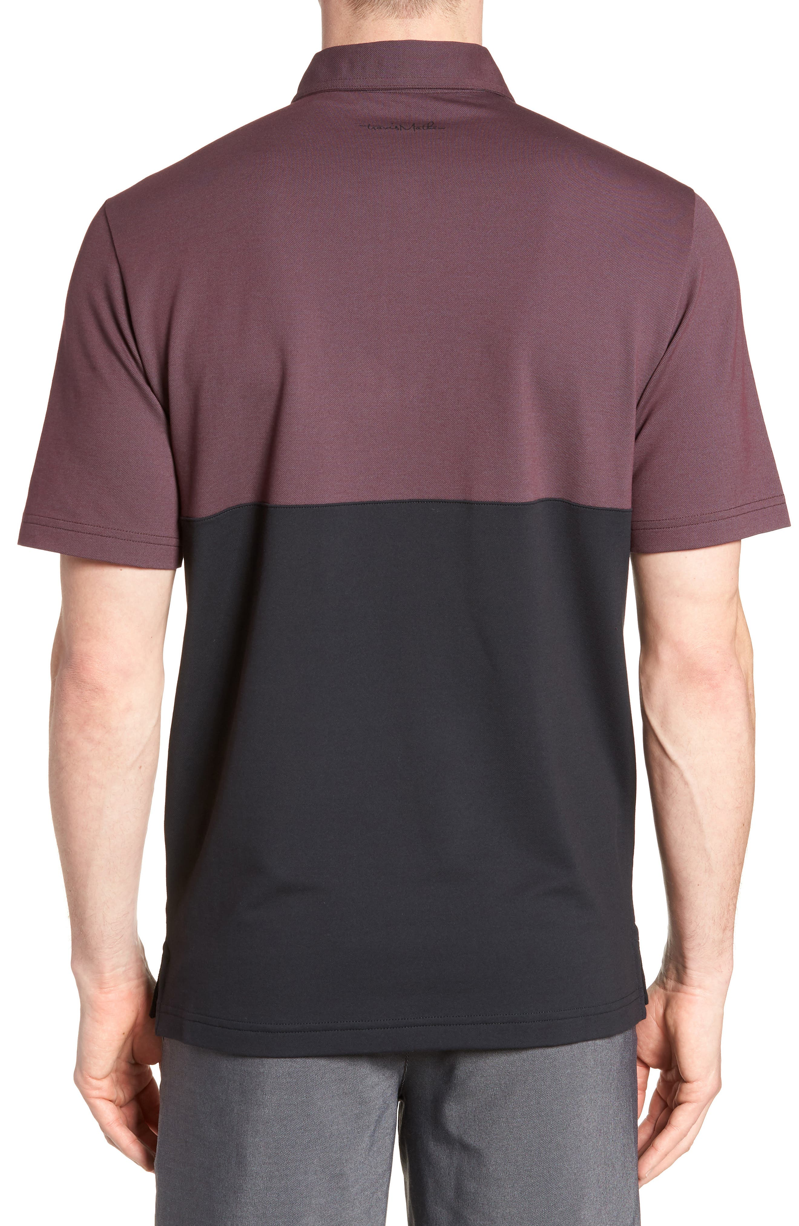 Boomer Polo Shirt,                             Alternate thumbnail 2, color,                             Winetasting