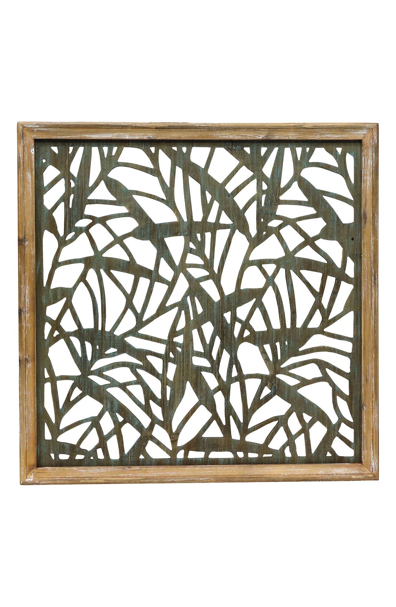 Main Image - Foreside Cut Wood Wall Art