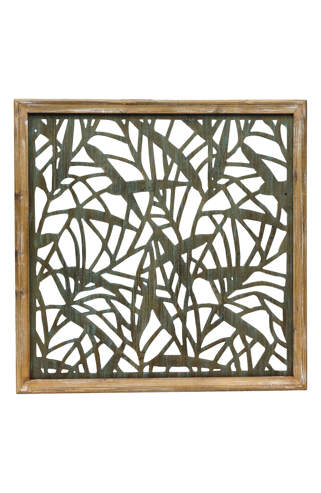 Foreside Cut Wood Wall Art