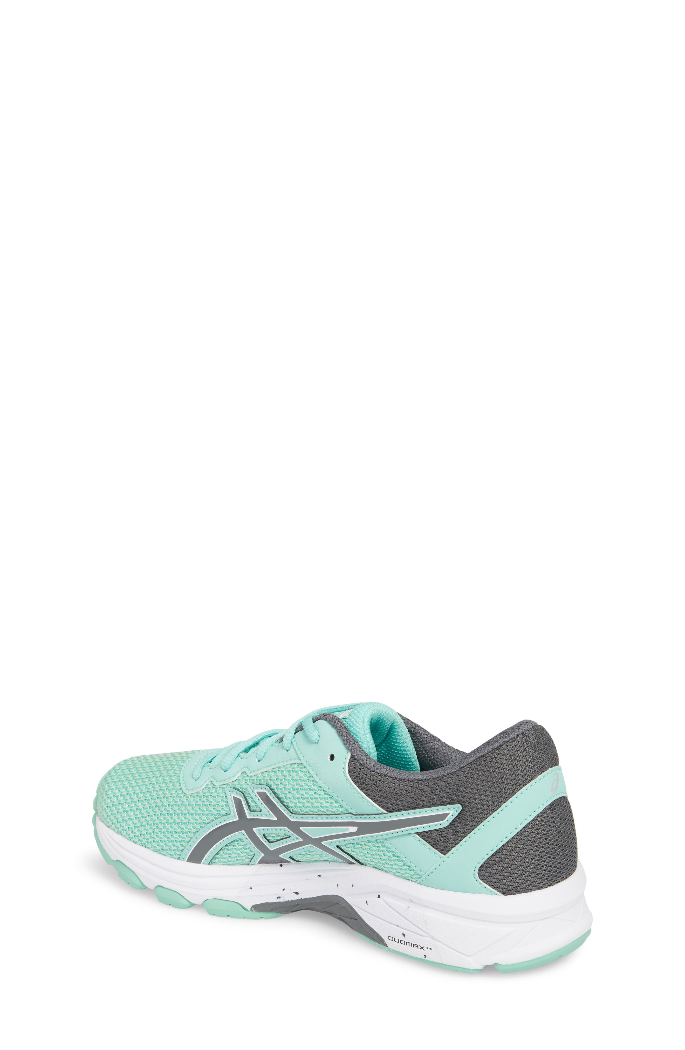 Asics GT-1000<sup>™</sup> 6 GS Sneaker,                             Alternate thumbnail 2, color,                             Carbon/ Opal Green