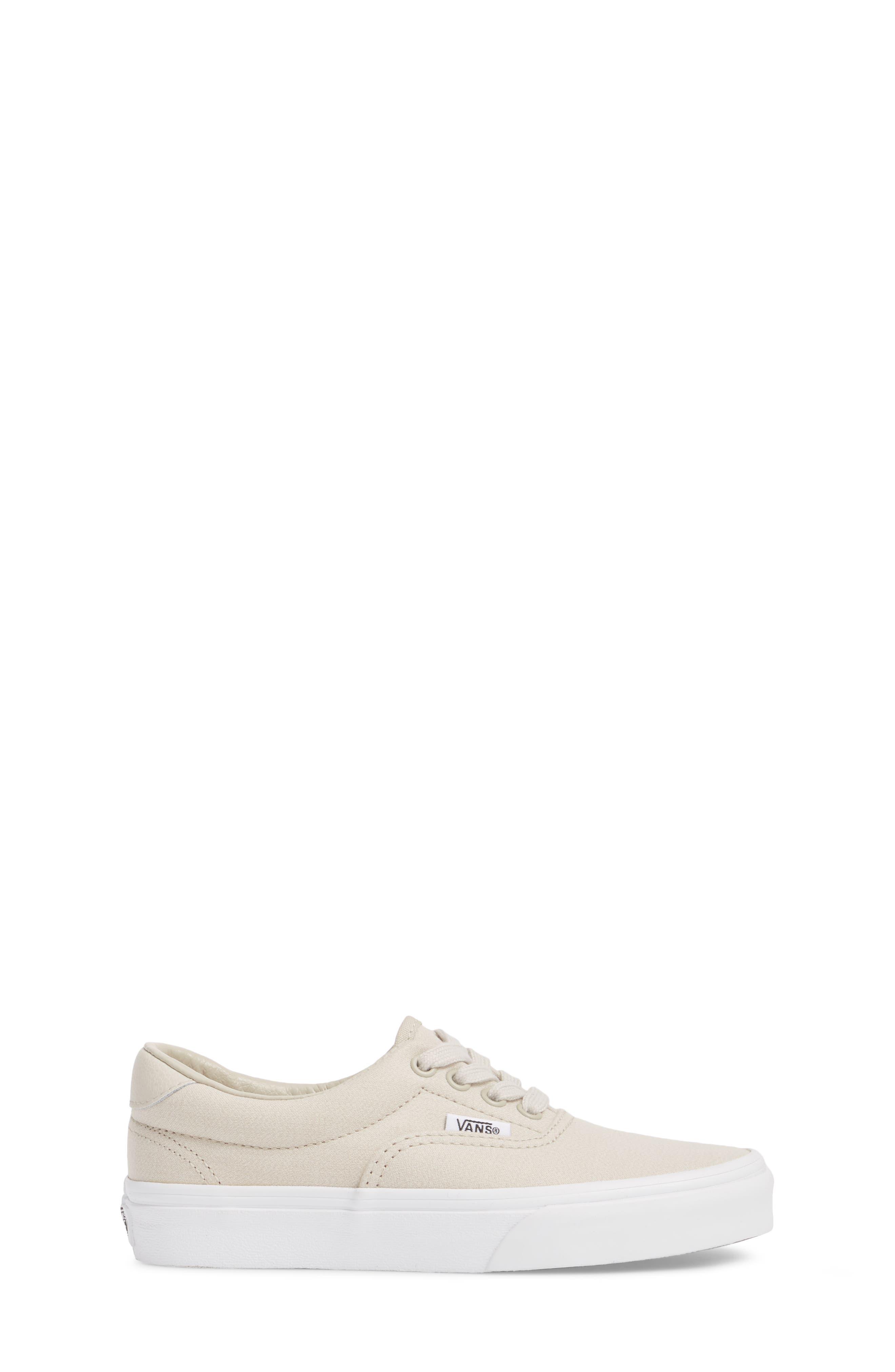 Era 59 Bleacher Sneaker,                             Alternate thumbnail 3, color,                             Silver Lining/ True White