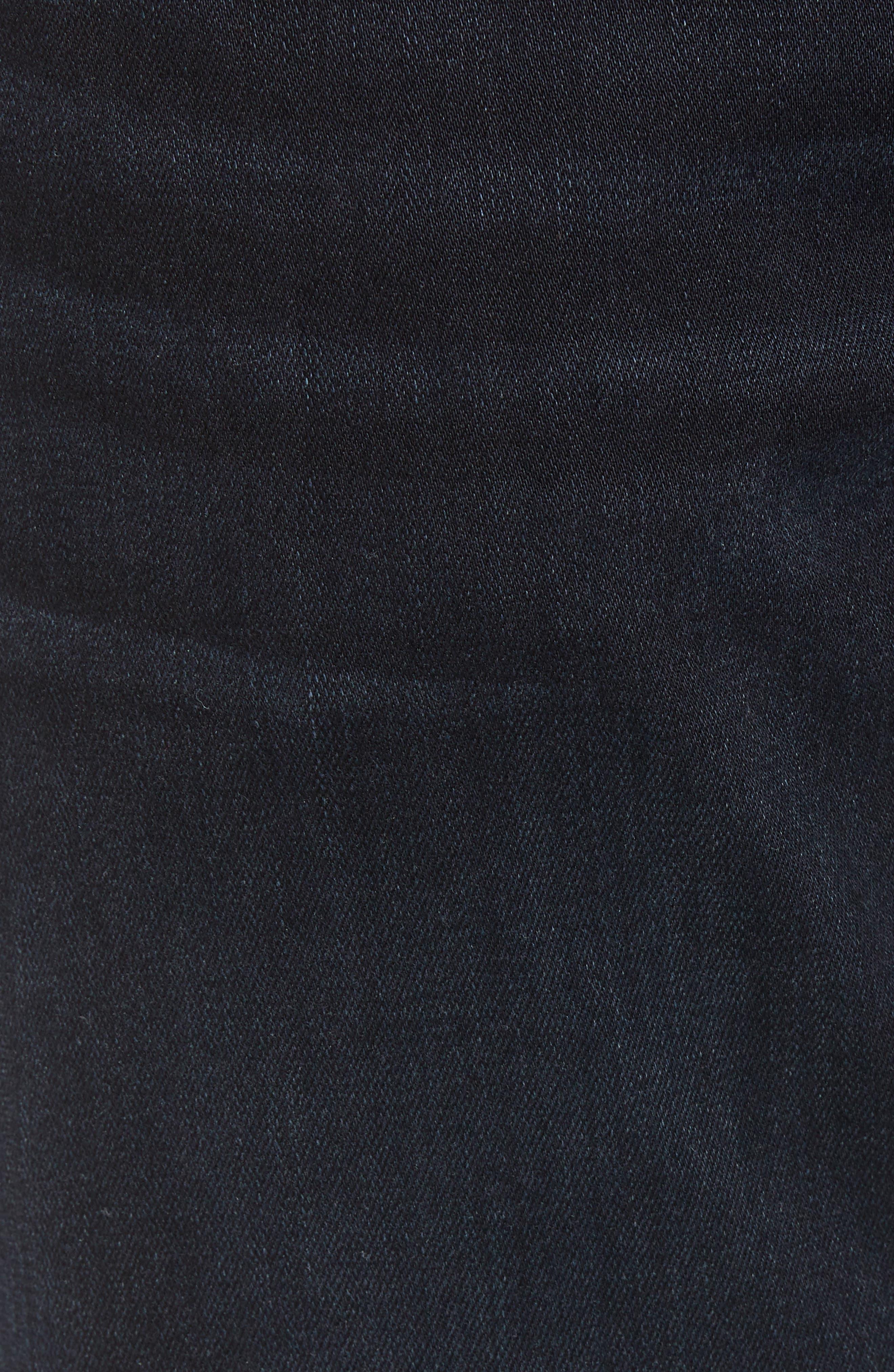Transcend - Normandie Straight Leg Jeans,                             Alternate thumbnail 5, color,                             Ron
