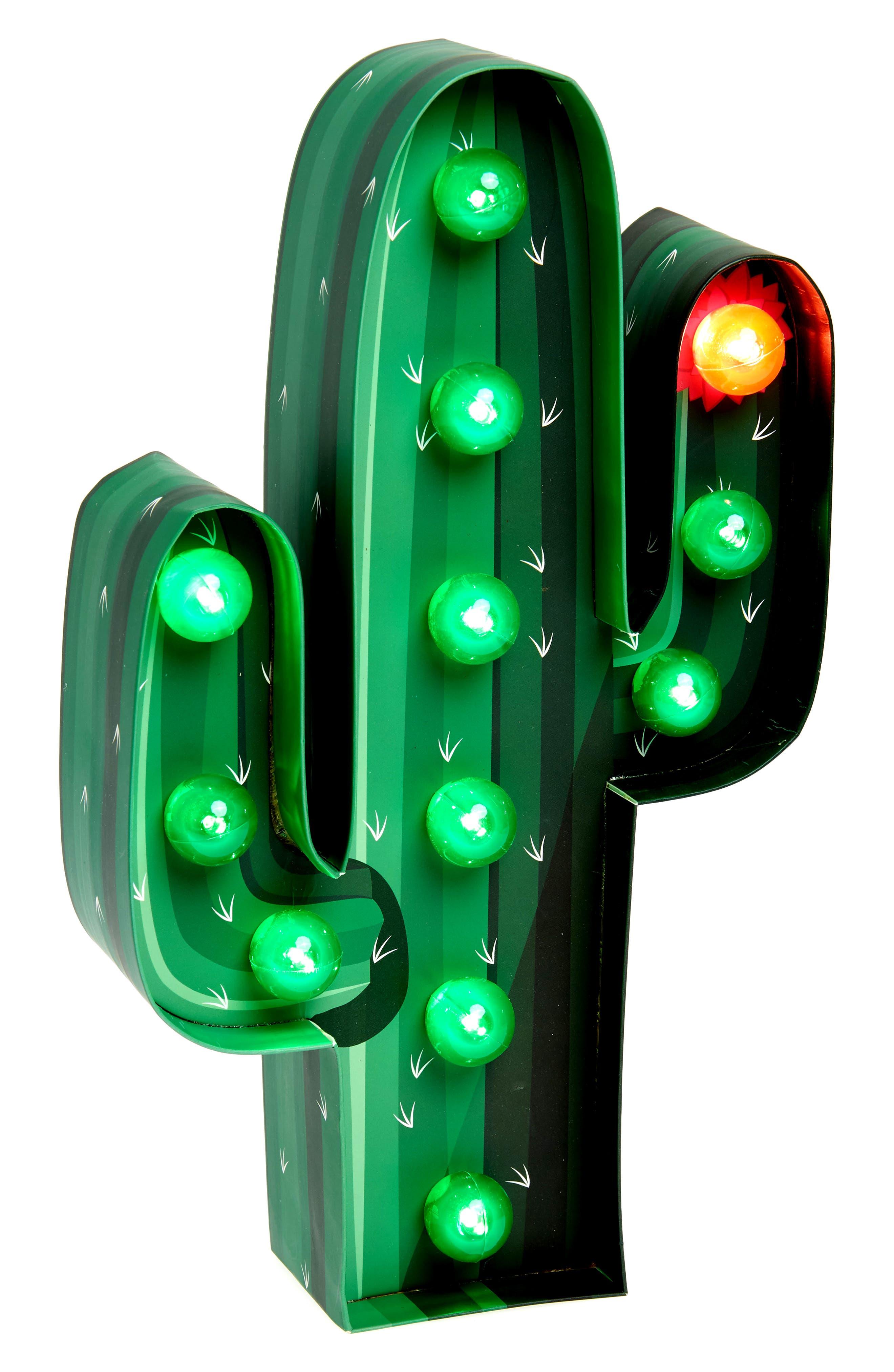 Alternate Image 2  - Sunnylife Cactus Marquee Light (Kids)