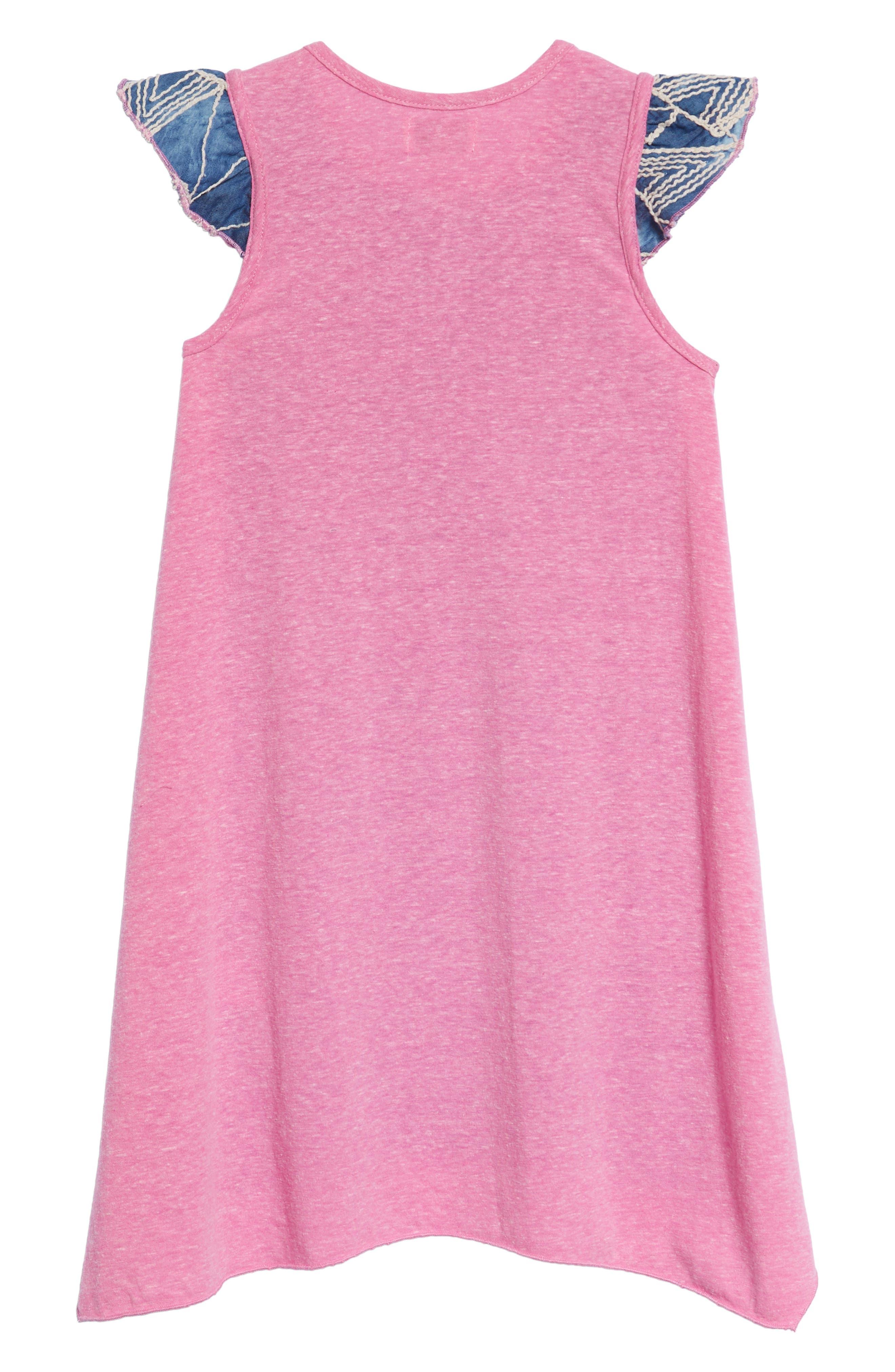 Alternate Image 2  - Mikki Miette India Embroidered Dress (Toddler Girls & Little Girls)