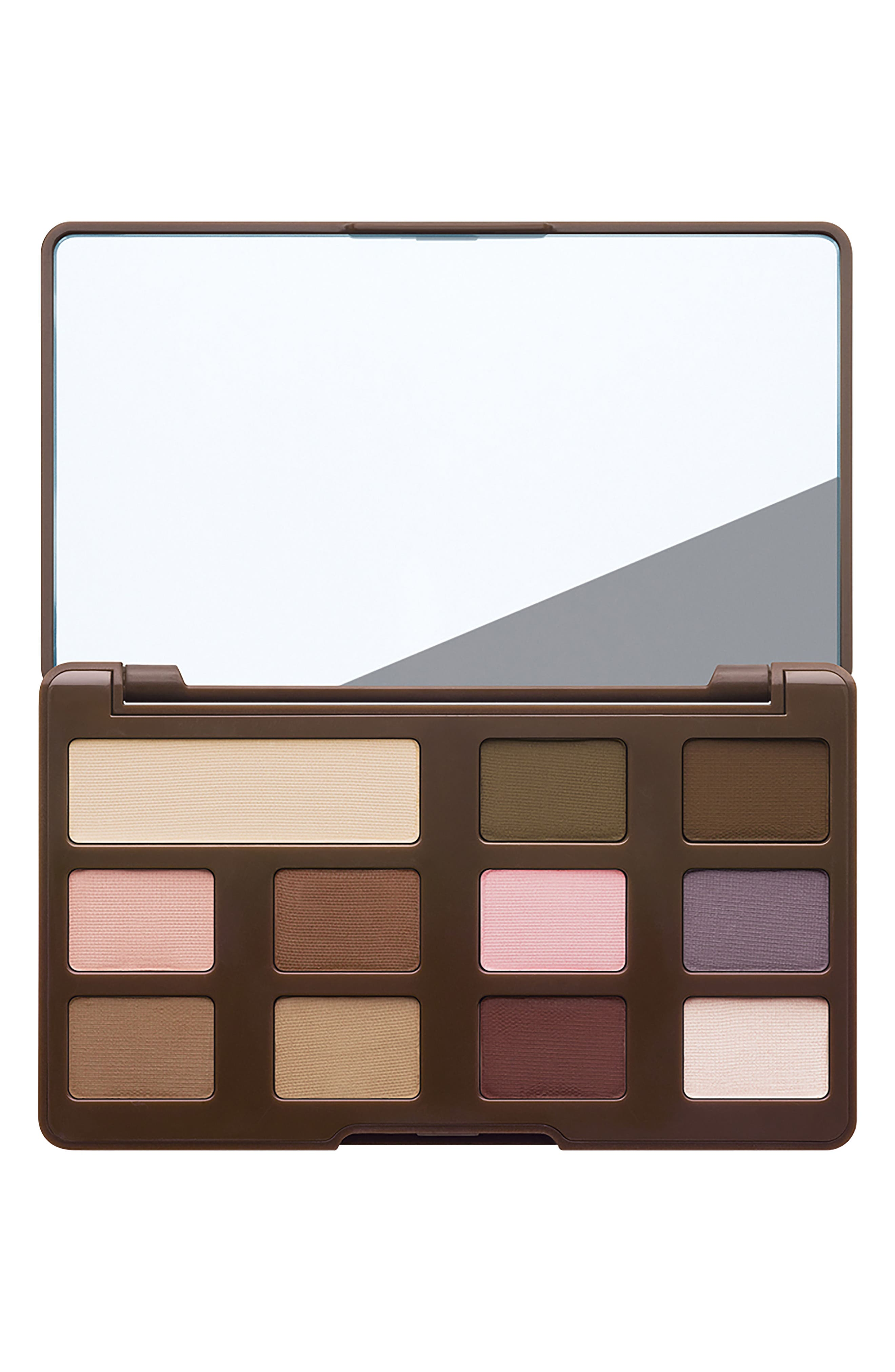 Matte Chocolate Chip Eyeshadow Palette,                             Alternate thumbnail 2, color,                             Chocolate Chip