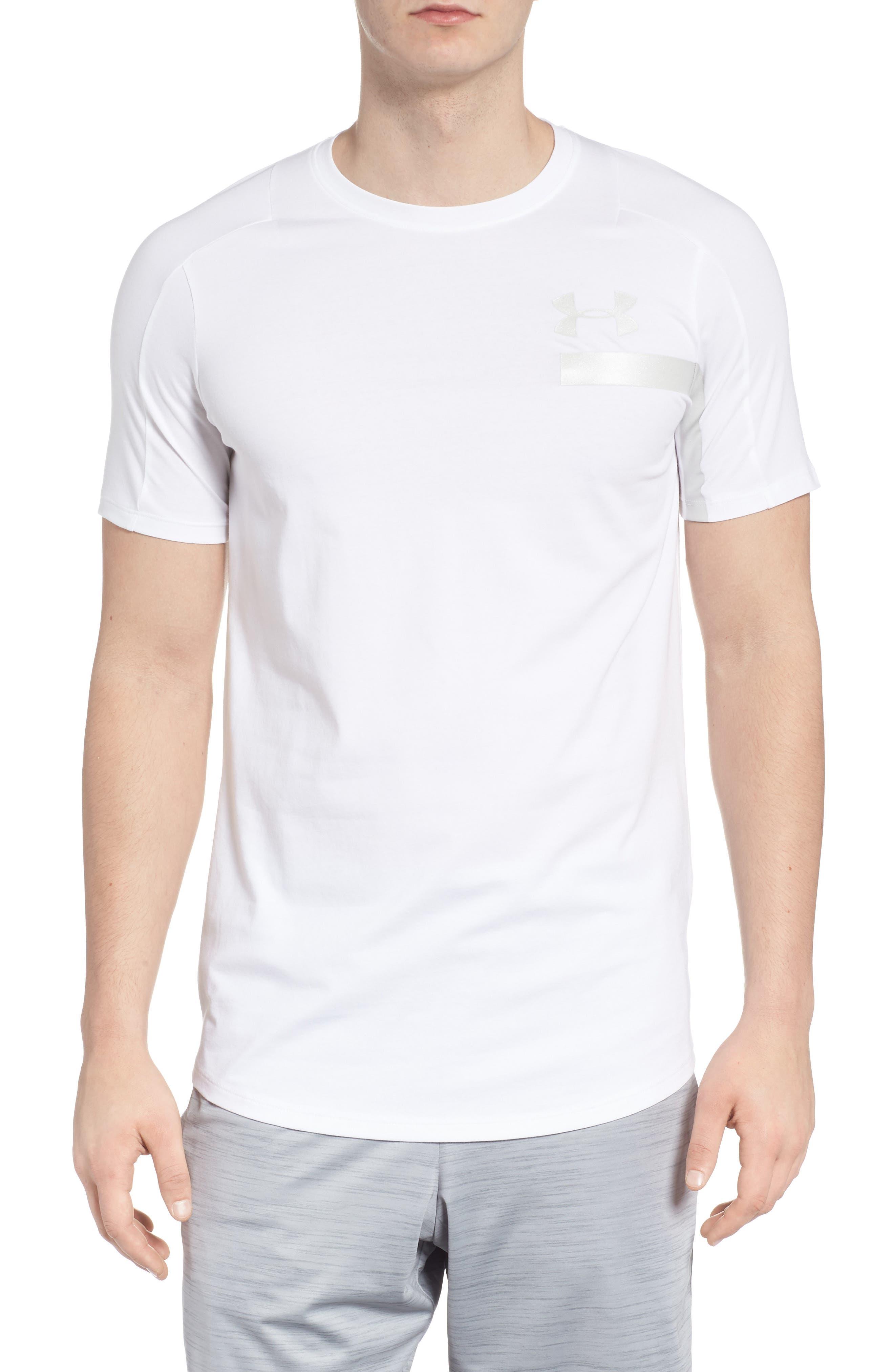 Perpetual Crewneck T-Shirt,                             Main thumbnail 1, color,                             White/ White