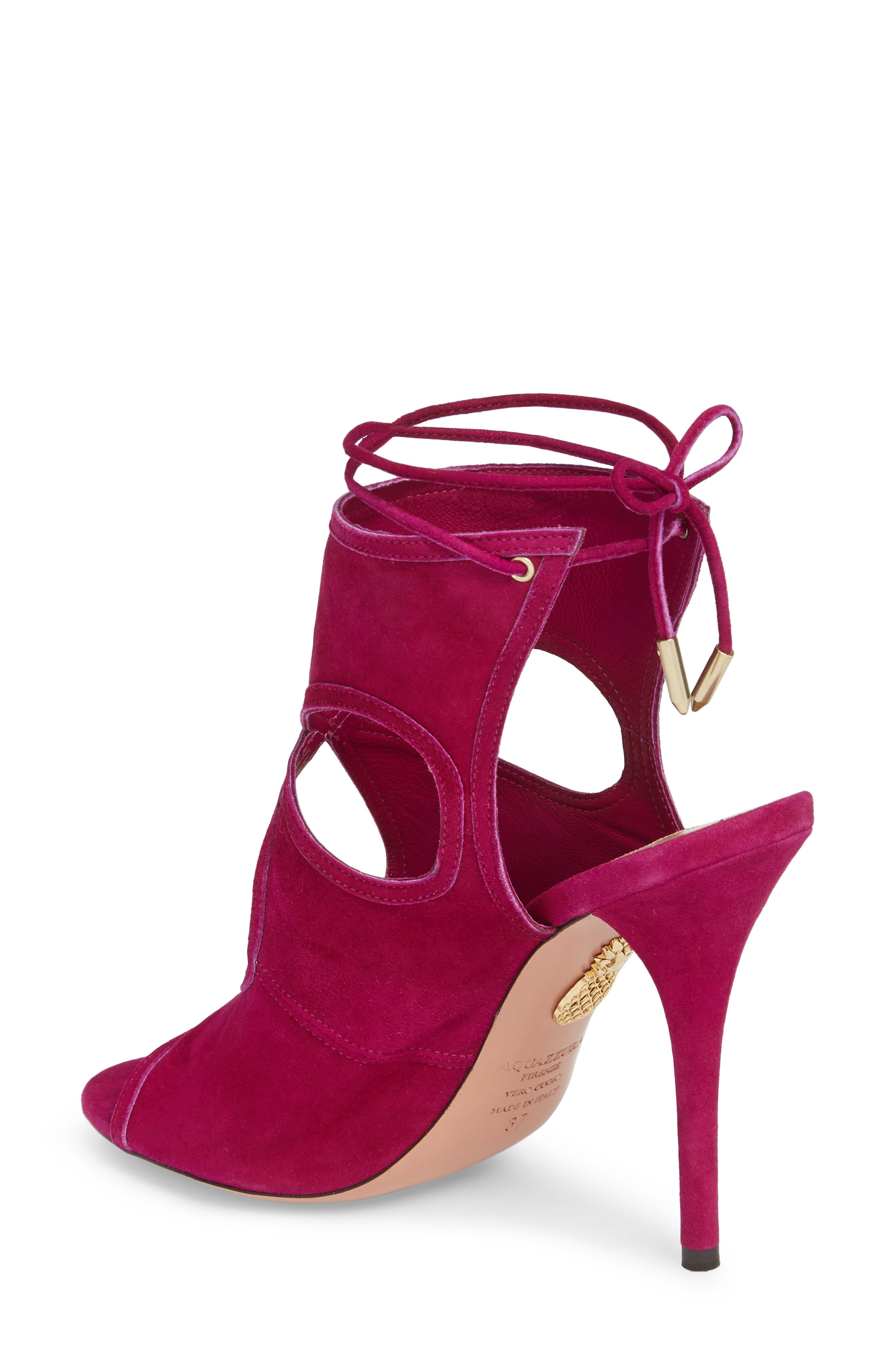 Sexy Thing Ankle Shield Sandal,                             Alternate thumbnail 2, color,                             Iris