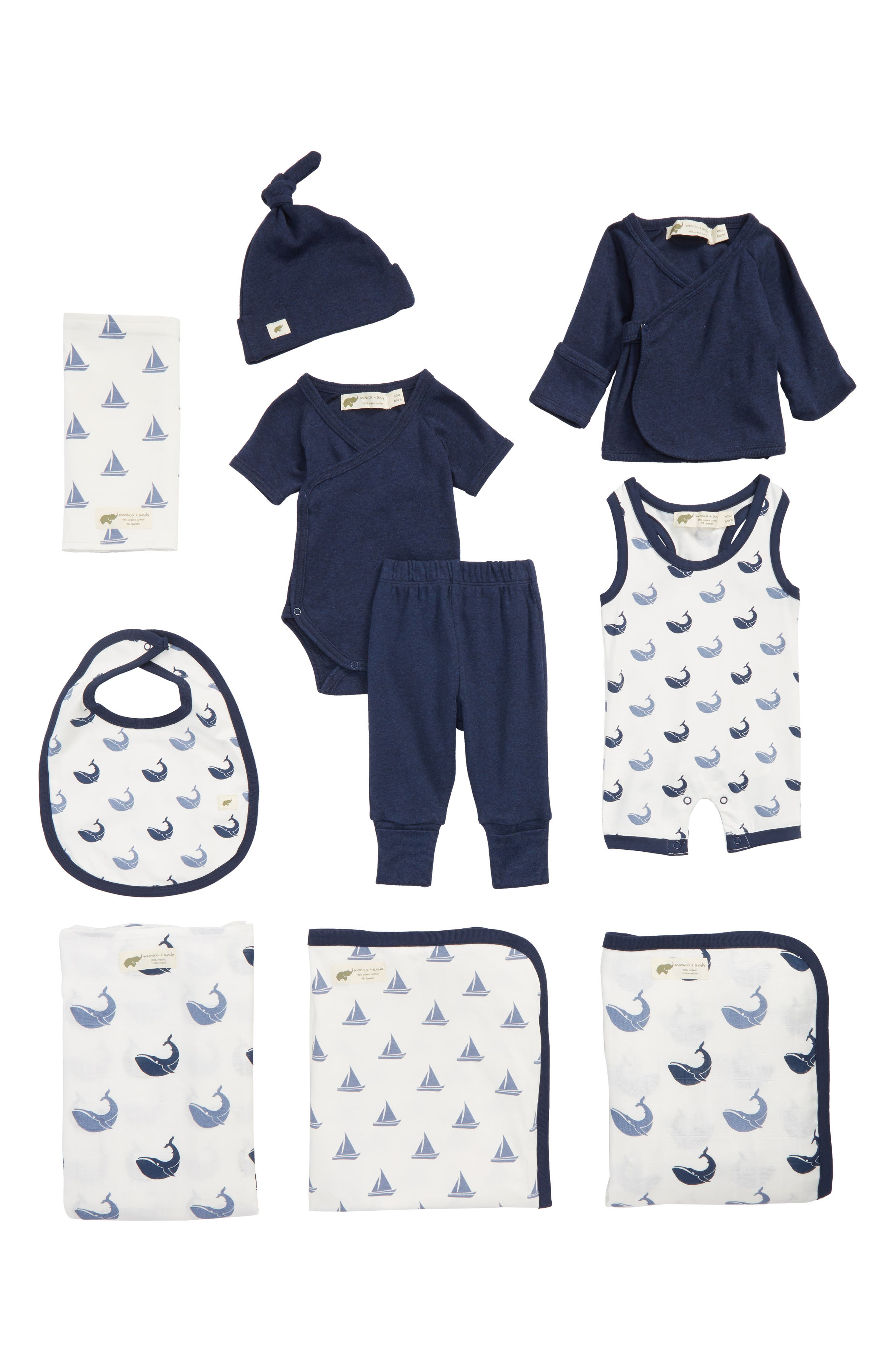 Monica + Andy 9-Piece Bundle Gift Set (Baby)