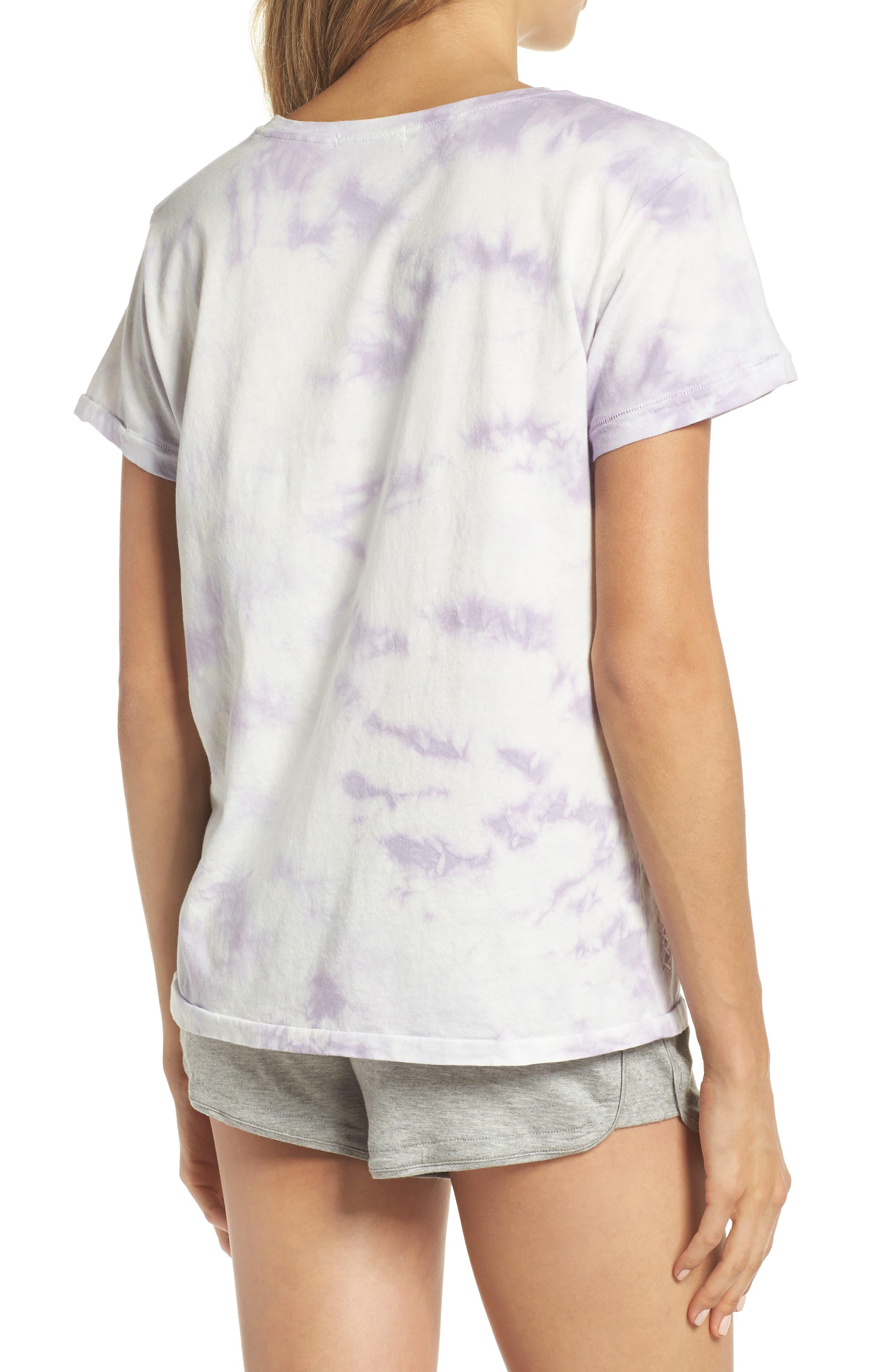 Tie Dye Tee,                             Alternate thumbnail 2, color,                             Lilac Tie Dye