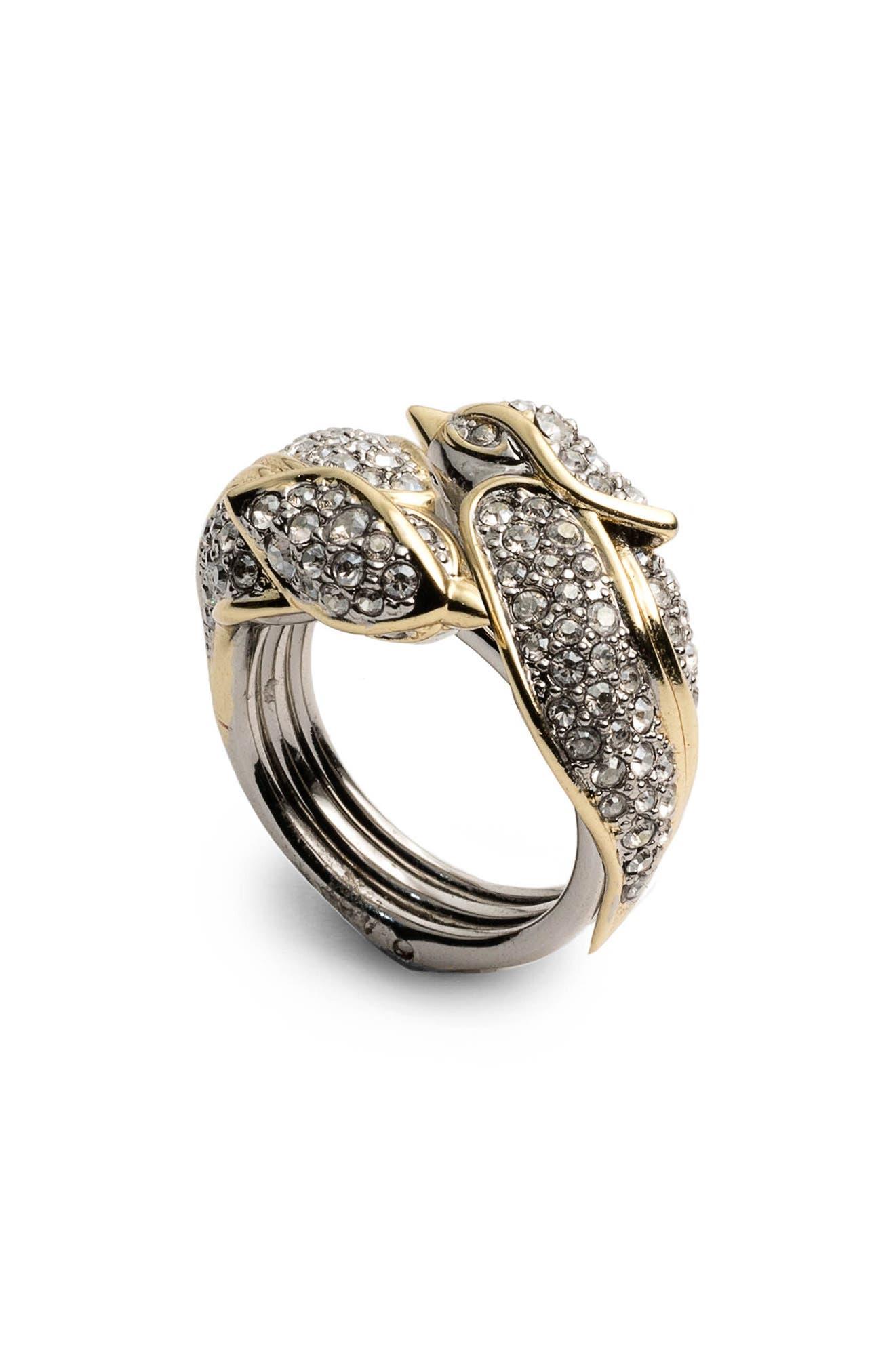 Alexis Bittar Secret Lovebird Ring