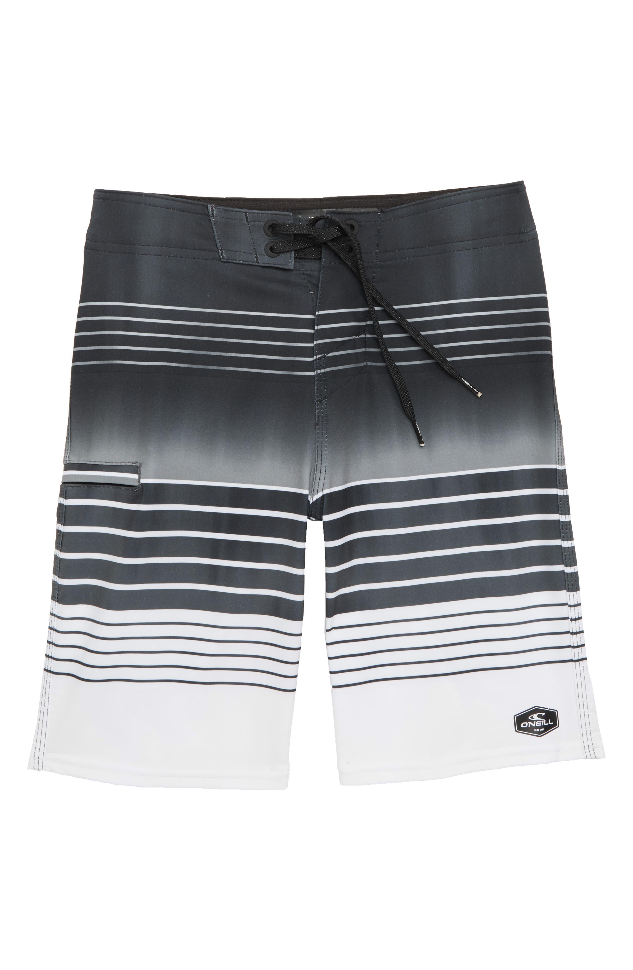 Hyperfreak Heist Board Shorts,                             Main thumbnail 1, color,                             Black