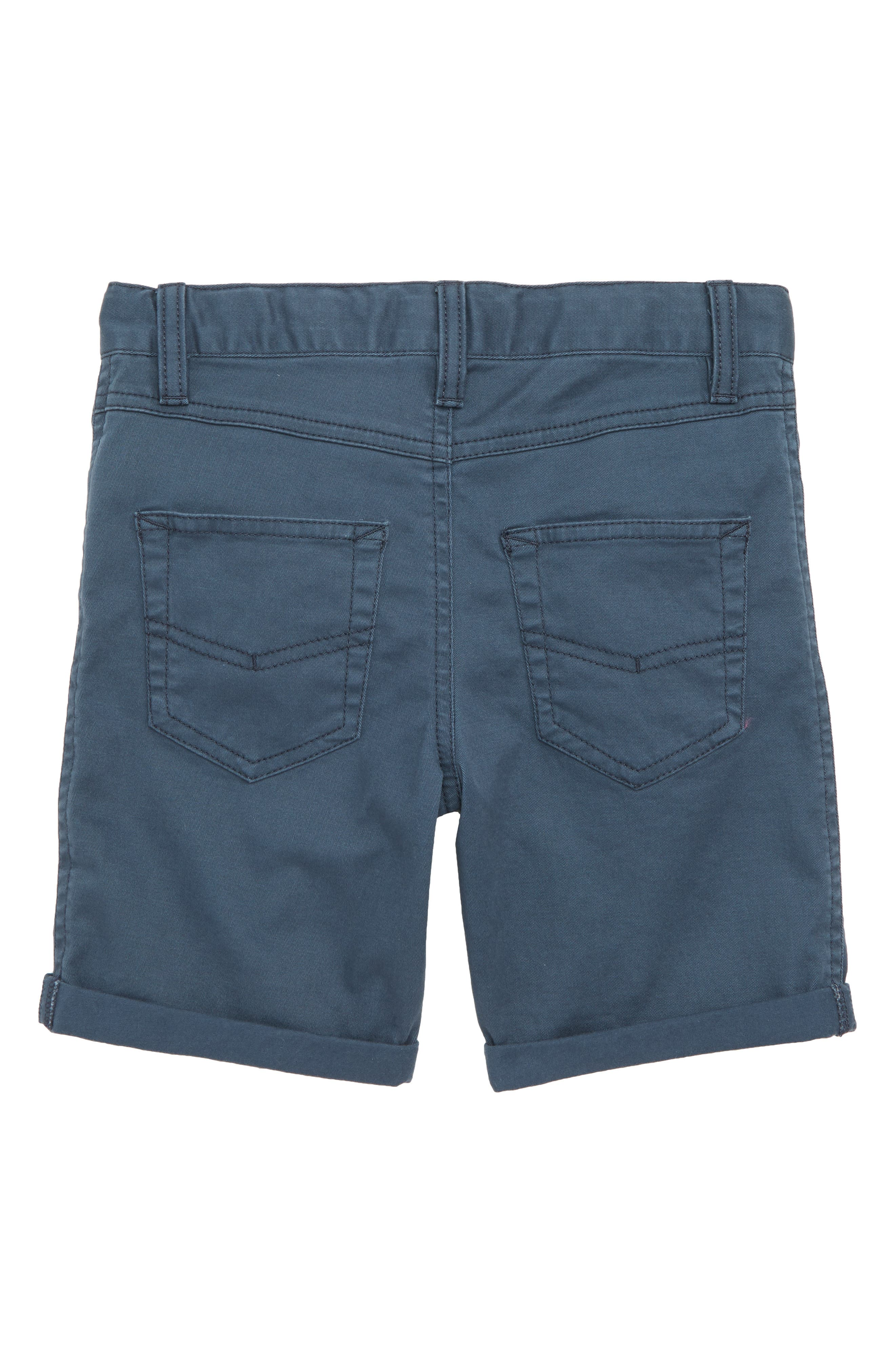 Stretch Twill Shorts,                             Alternate thumbnail 2, color,                             Navy Midnight