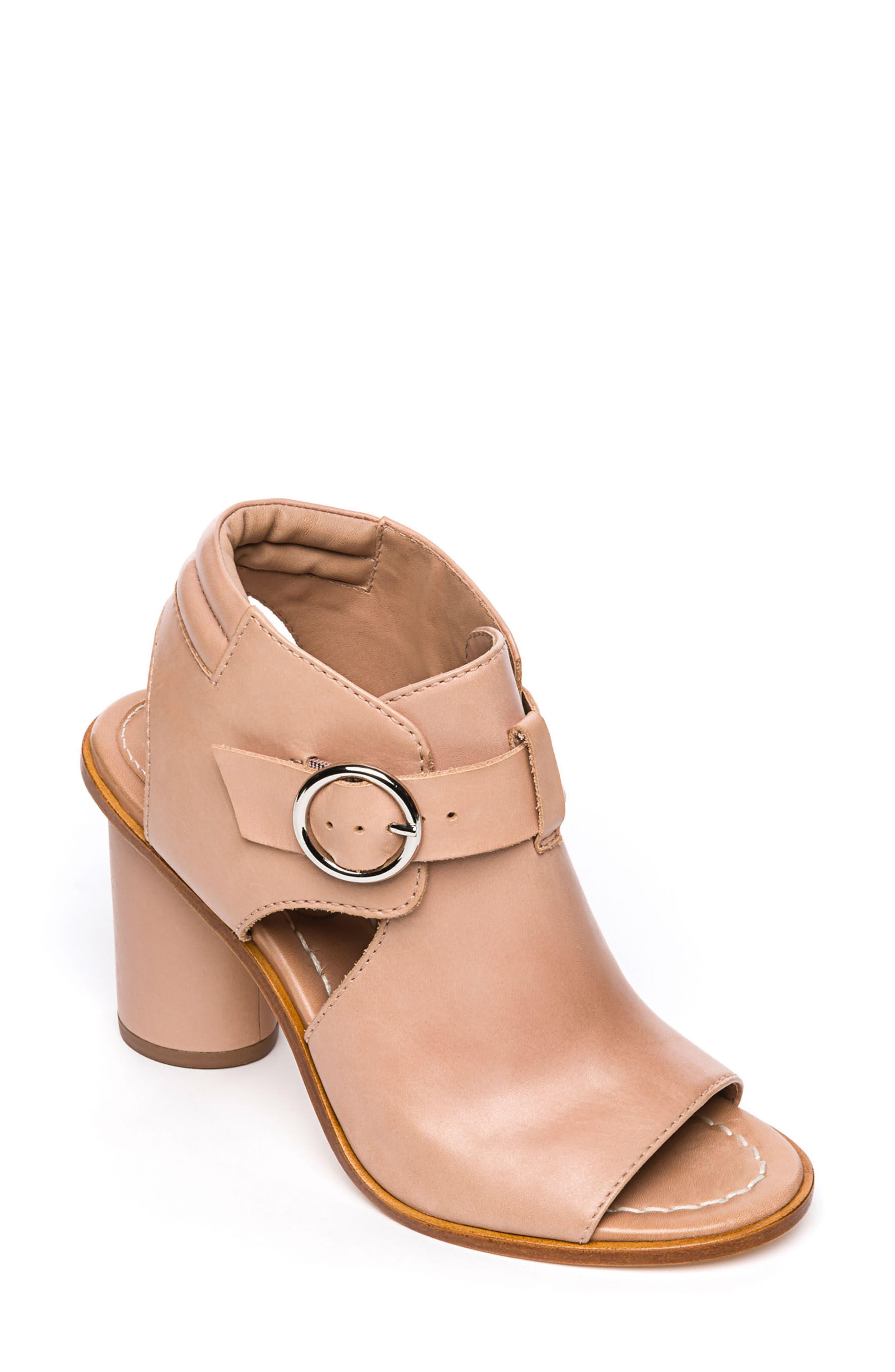 Bernardo Hazel Sandal,                         Main,                         color, Blush Leather