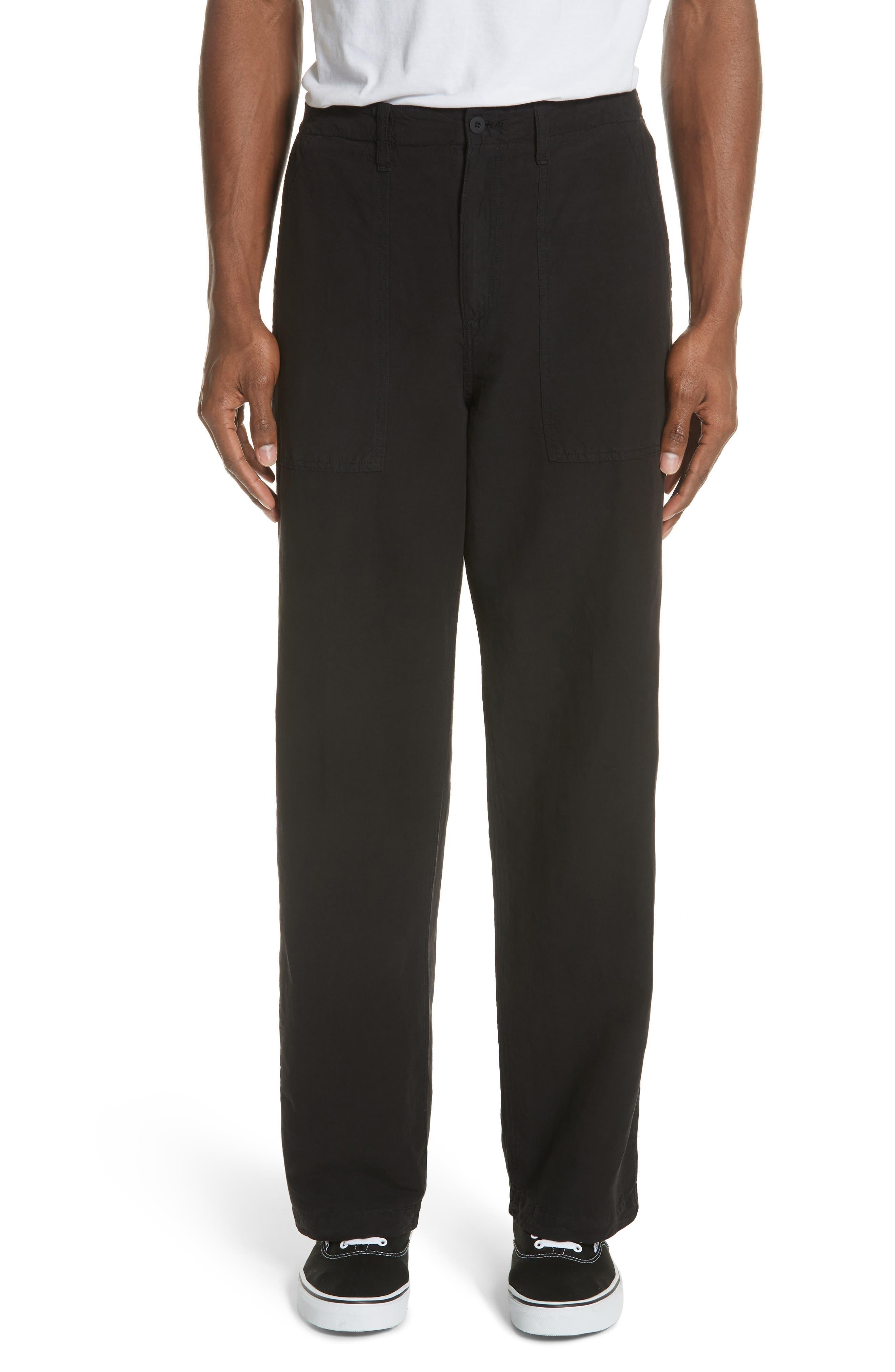 OUR LEGACY Linen & Cotton Army Pants