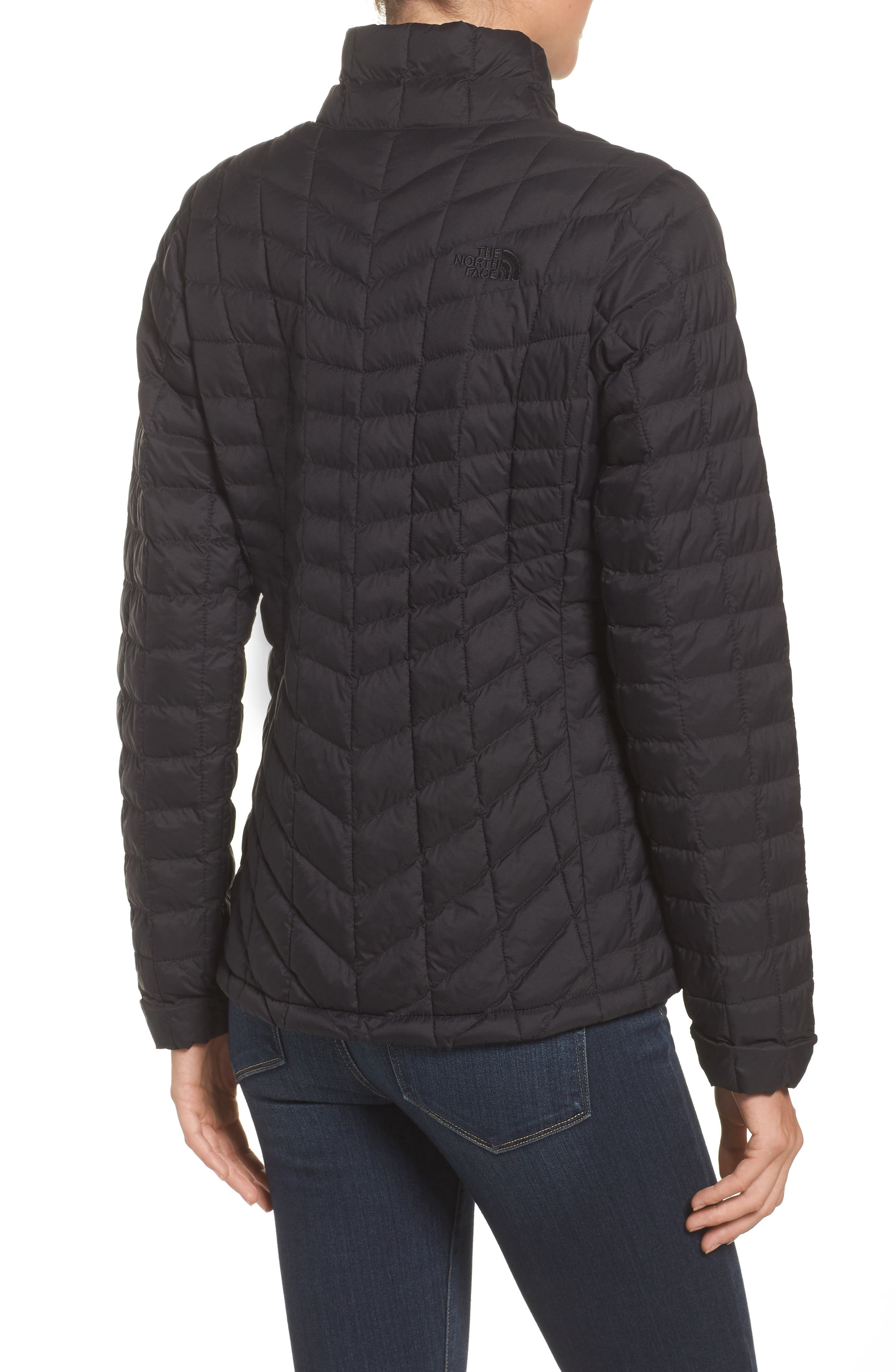 ThermoBall<sup>™</sup> Full Zip Jacket,                             Alternate thumbnail 2, color,                             Black Matte