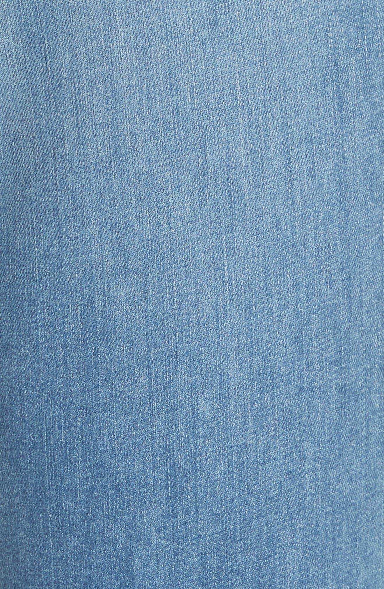 High Waist Skinny Jeans,                             Alternate thumbnail 5, color,                             Alibi