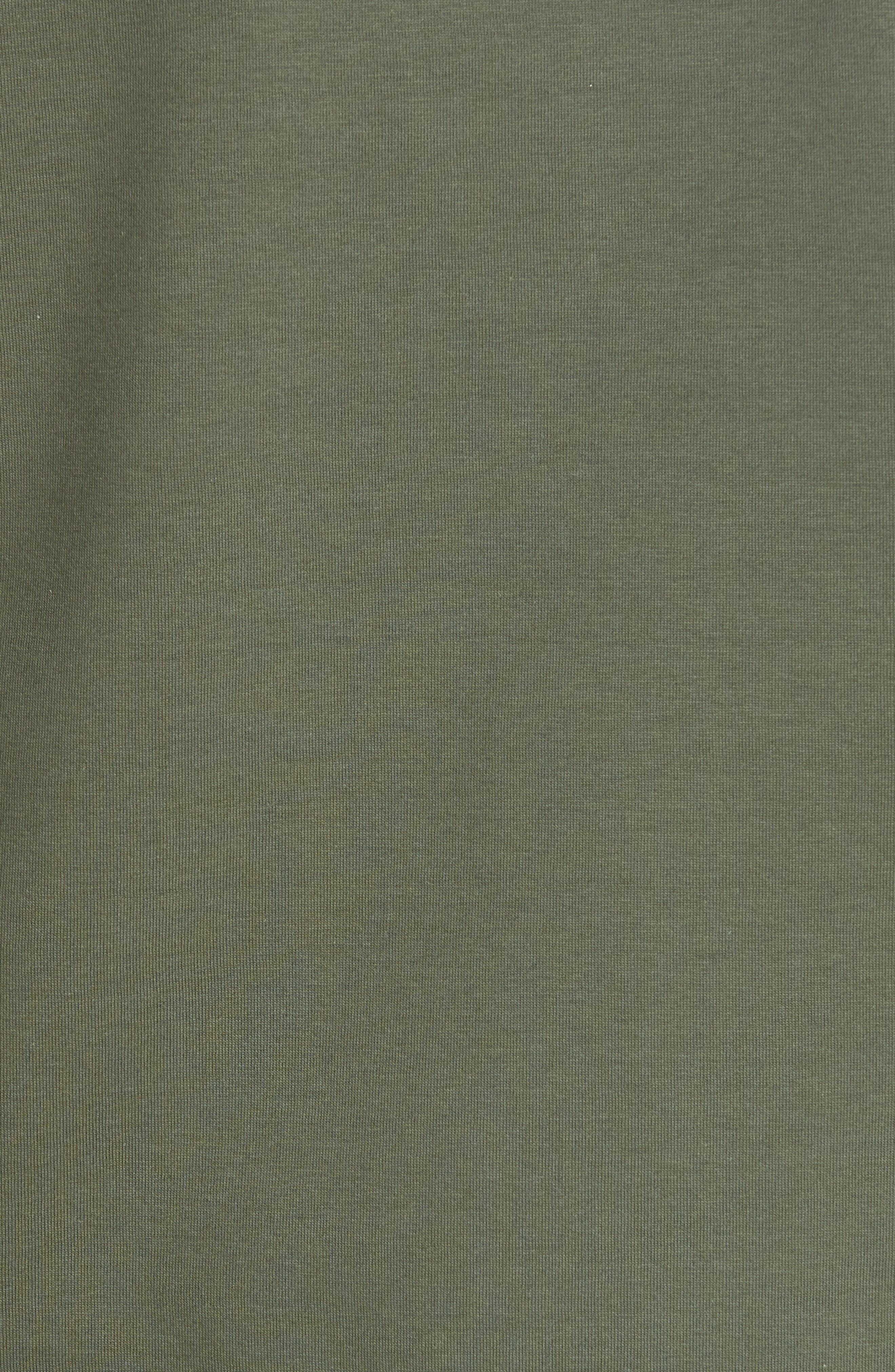 Abileen Fly Away Embroidered Sweatshirt,                             Alternate thumbnail 5, color,                             Khaki