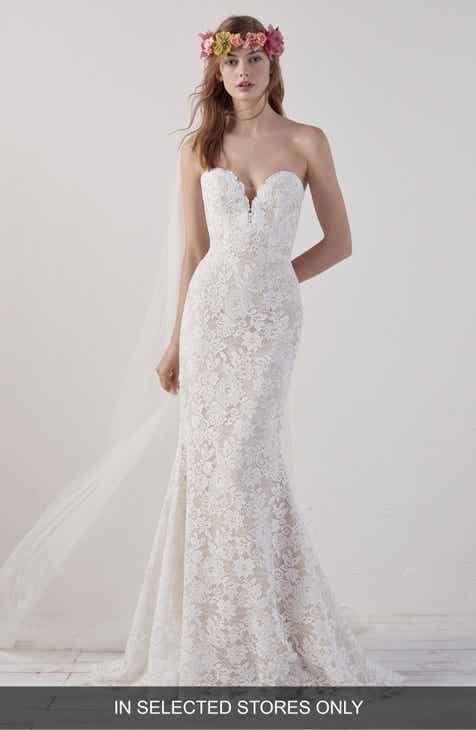 Strapless Wedding Dresses & Bridal Gowns | Nordstrom