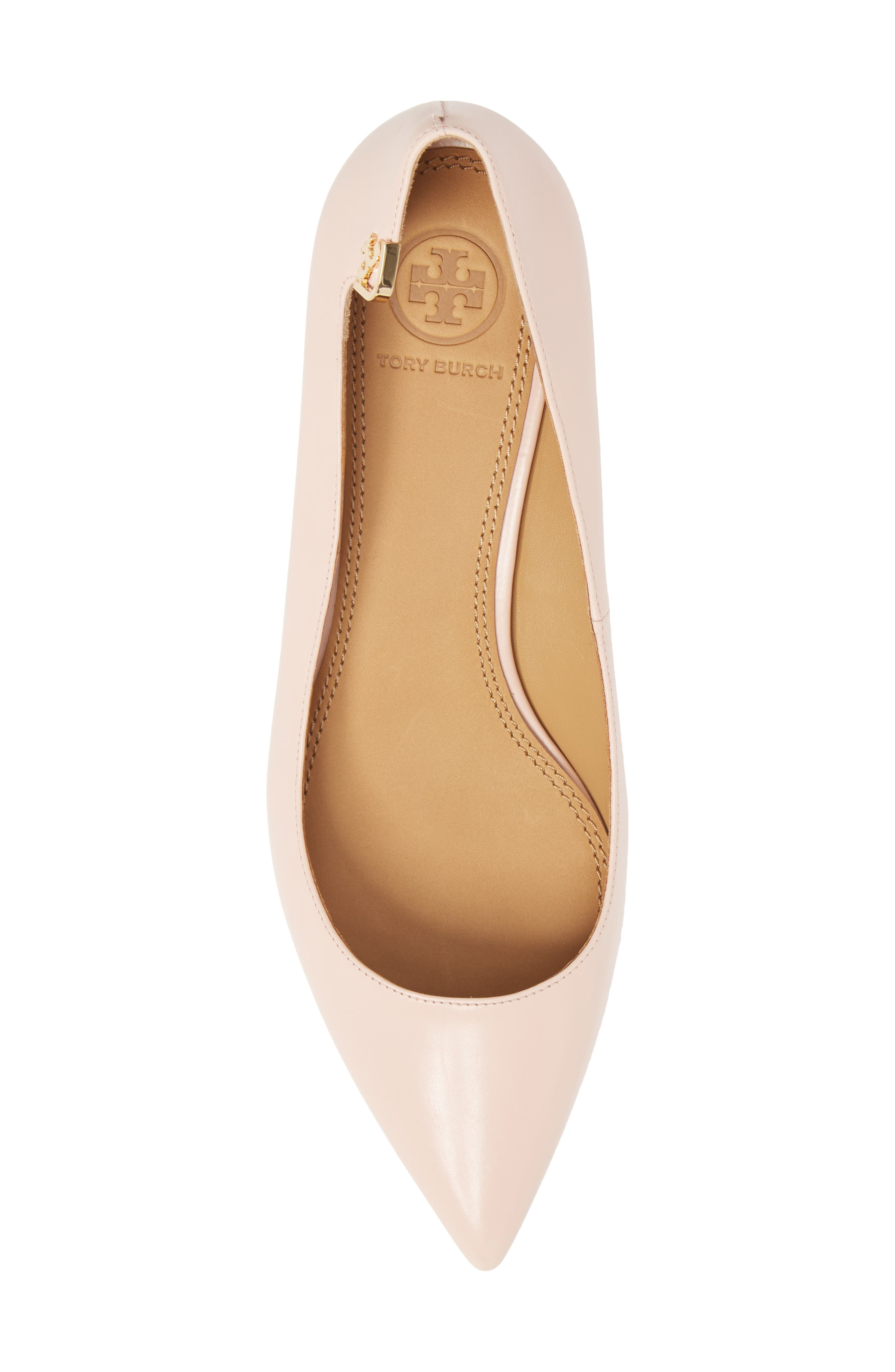 Elizabeth Pointy Toe Pump,                             Alternate thumbnail 5, color,                             Sea Shell Pink
