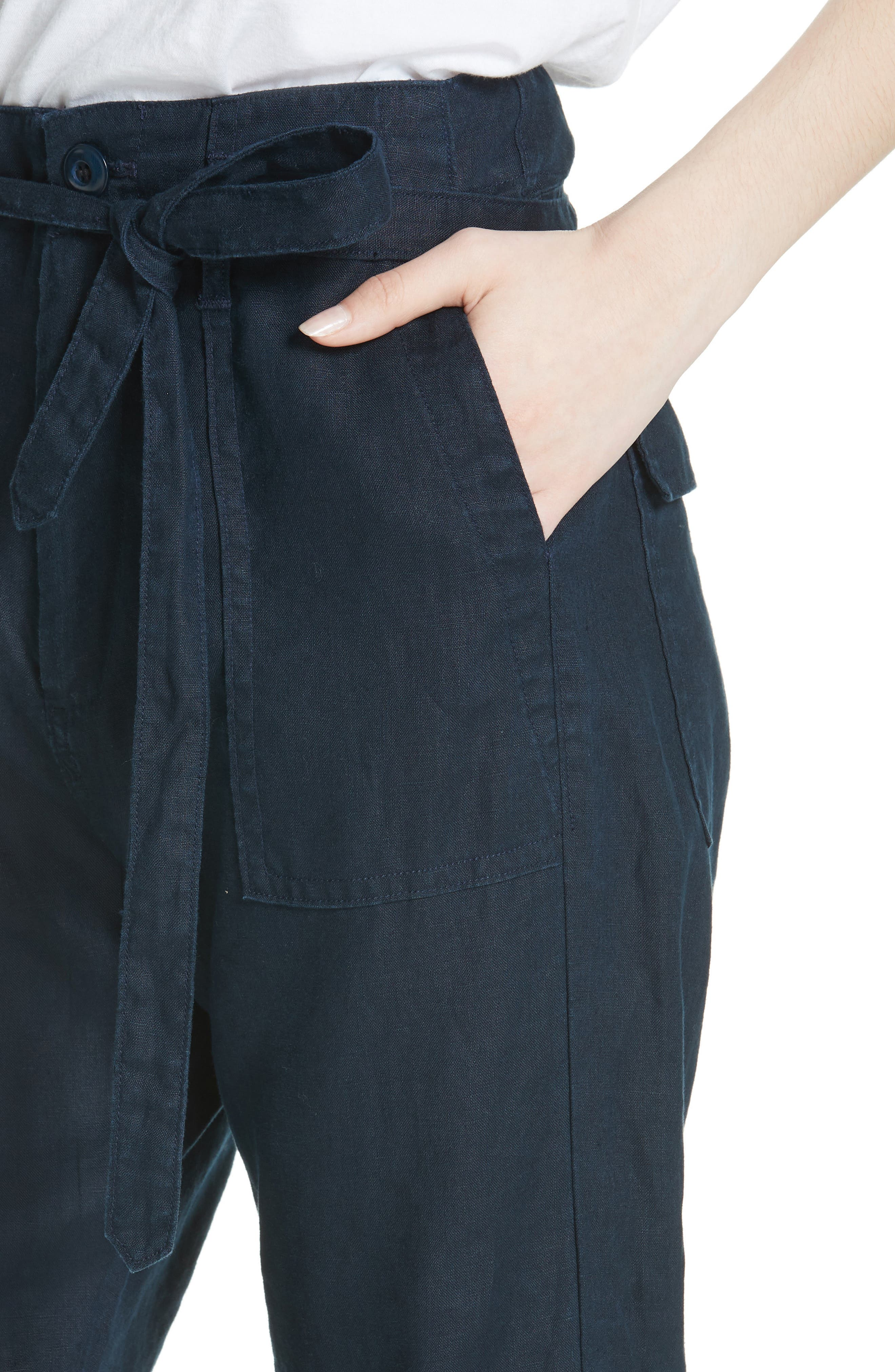 The Convertible Trousers,                             Alternate thumbnail 4, color,                             Navy