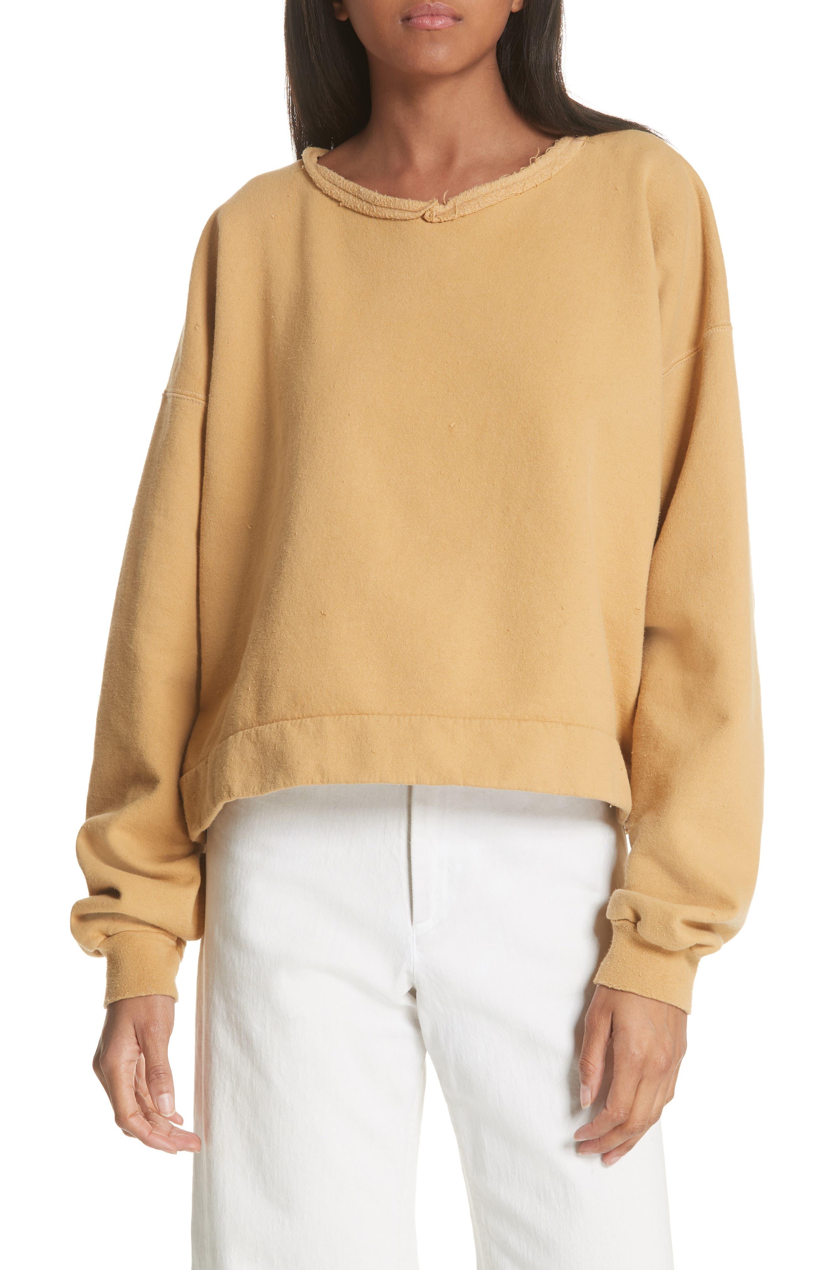 Rachel Comey Mingle Distressed Sweatshirt