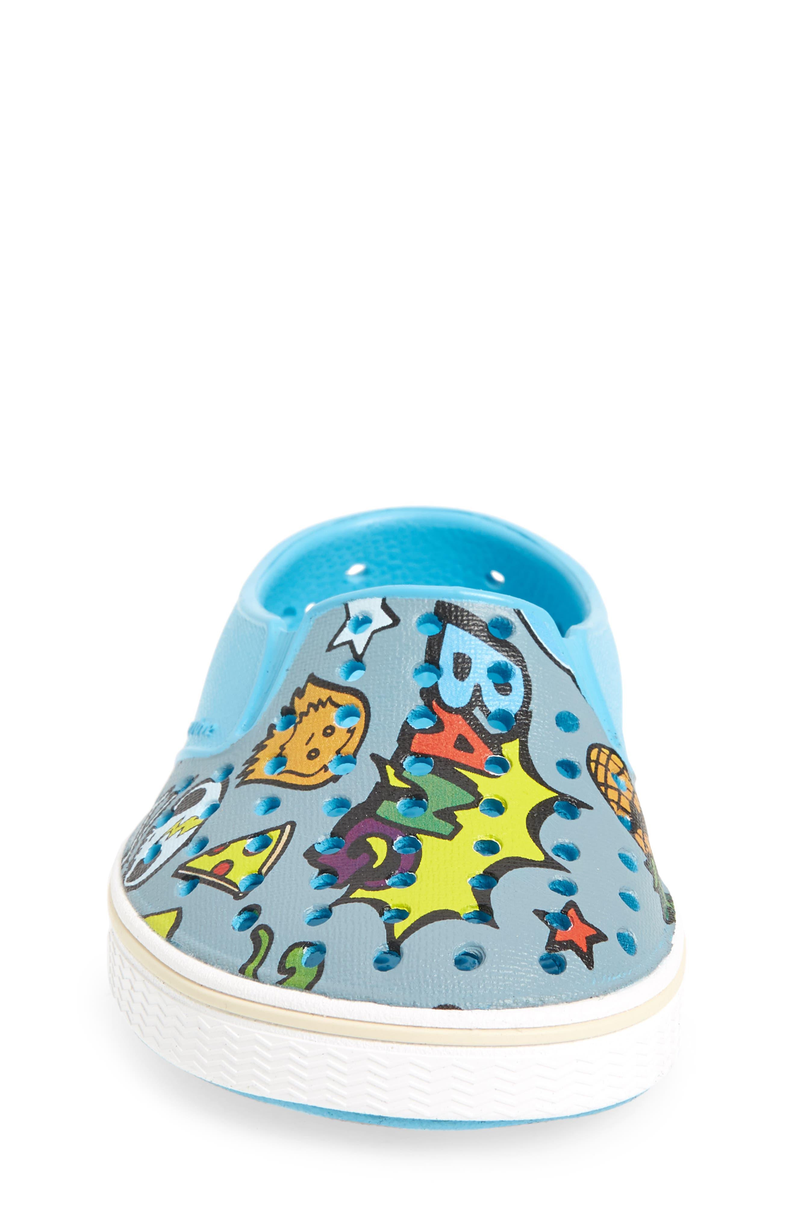 Alternate Image 4  - Native Shoes Miles Print Slip-On Sneaker (Baby, Walker, Toddler, Little Kid & Big Kid)