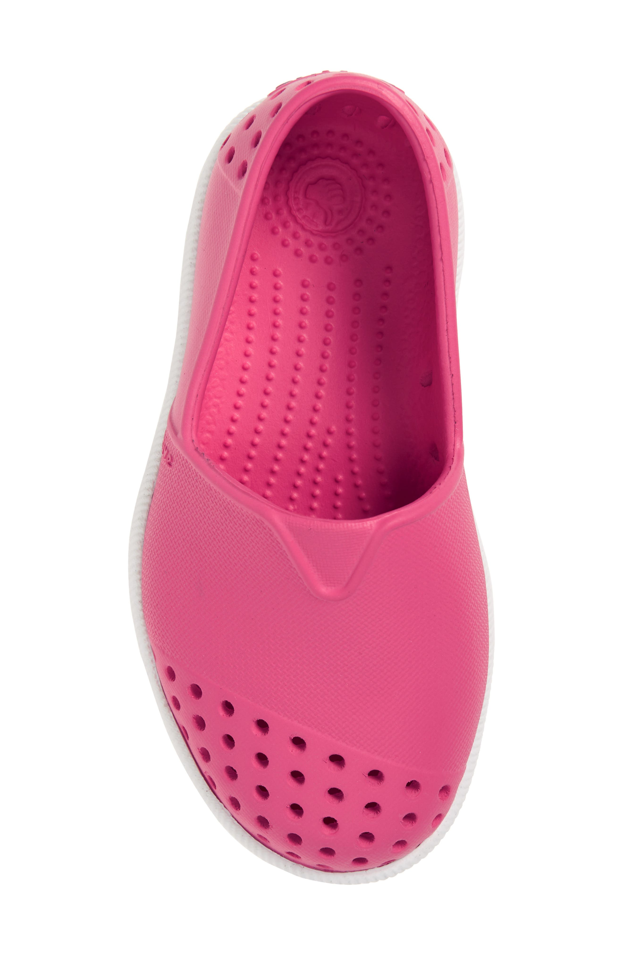 Verona Perforated Water Friendly Slip-On,                             Alternate thumbnail 5, color,                             Hollywood Pink/ Shell White
