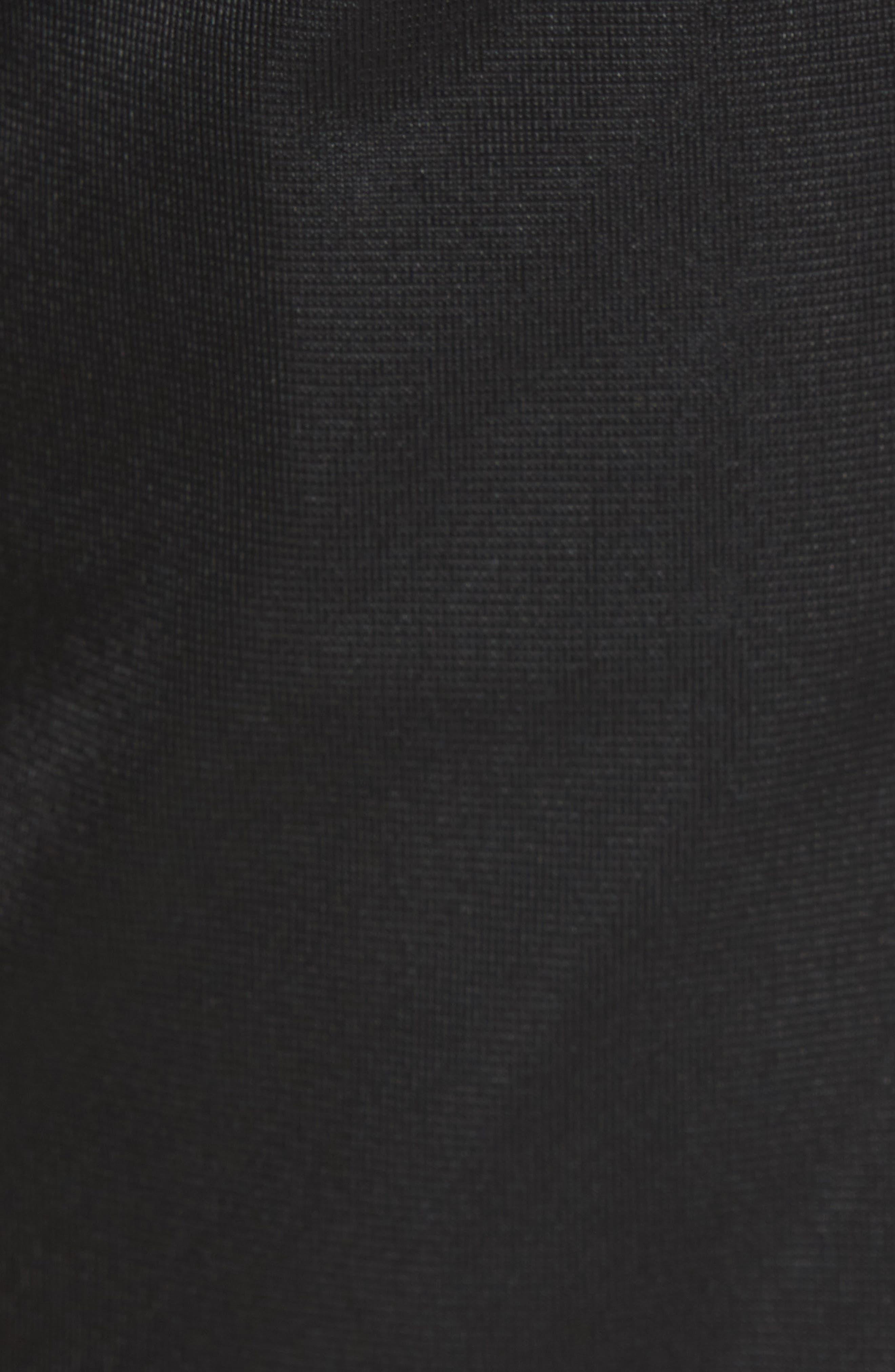 Racing Track Pants,                             Alternate thumbnail 5, color,                             Black/ White Gold