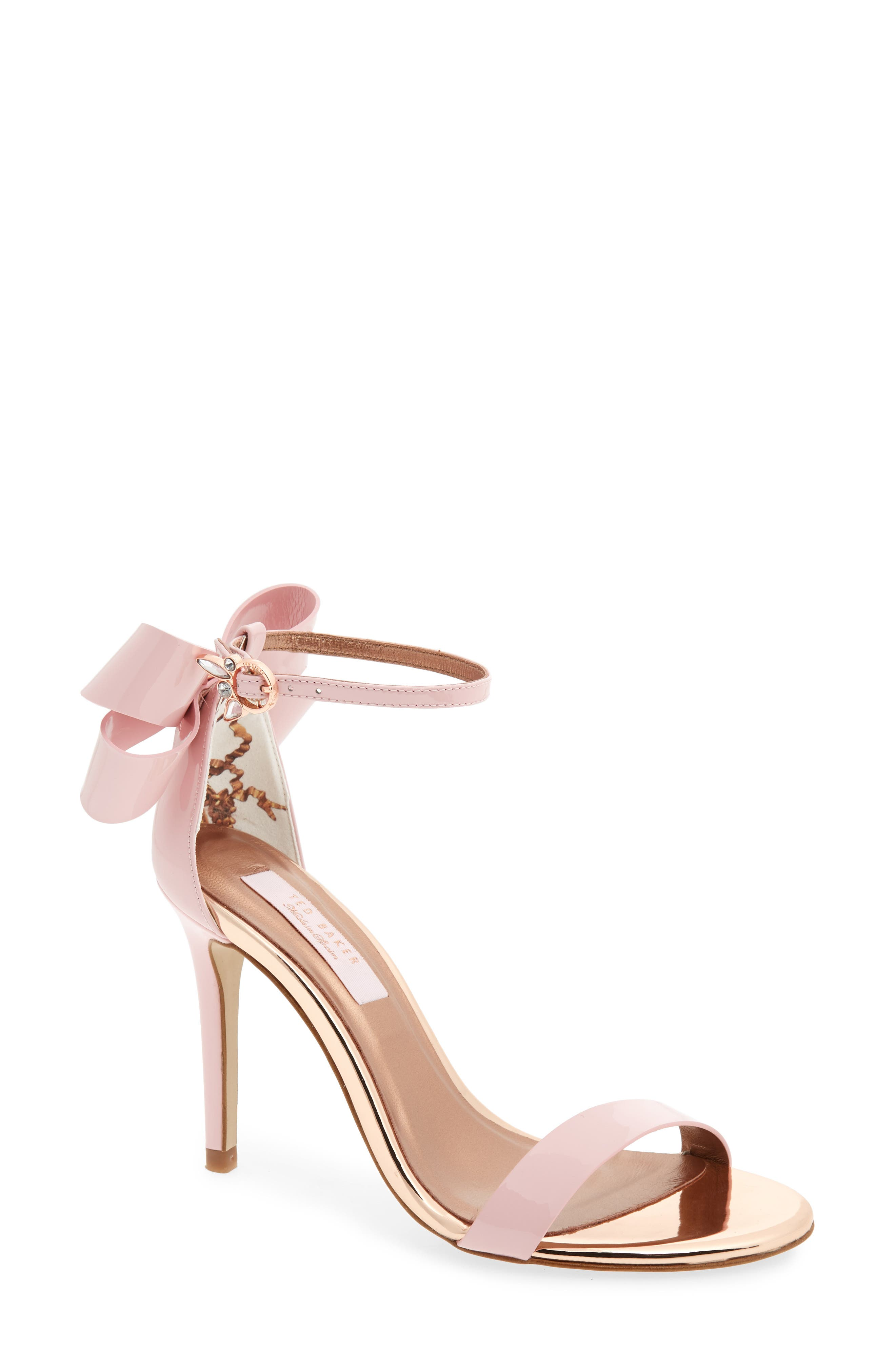 Sandalo Sandal,                             Main thumbnail 1, color,                             Light Pink Leather