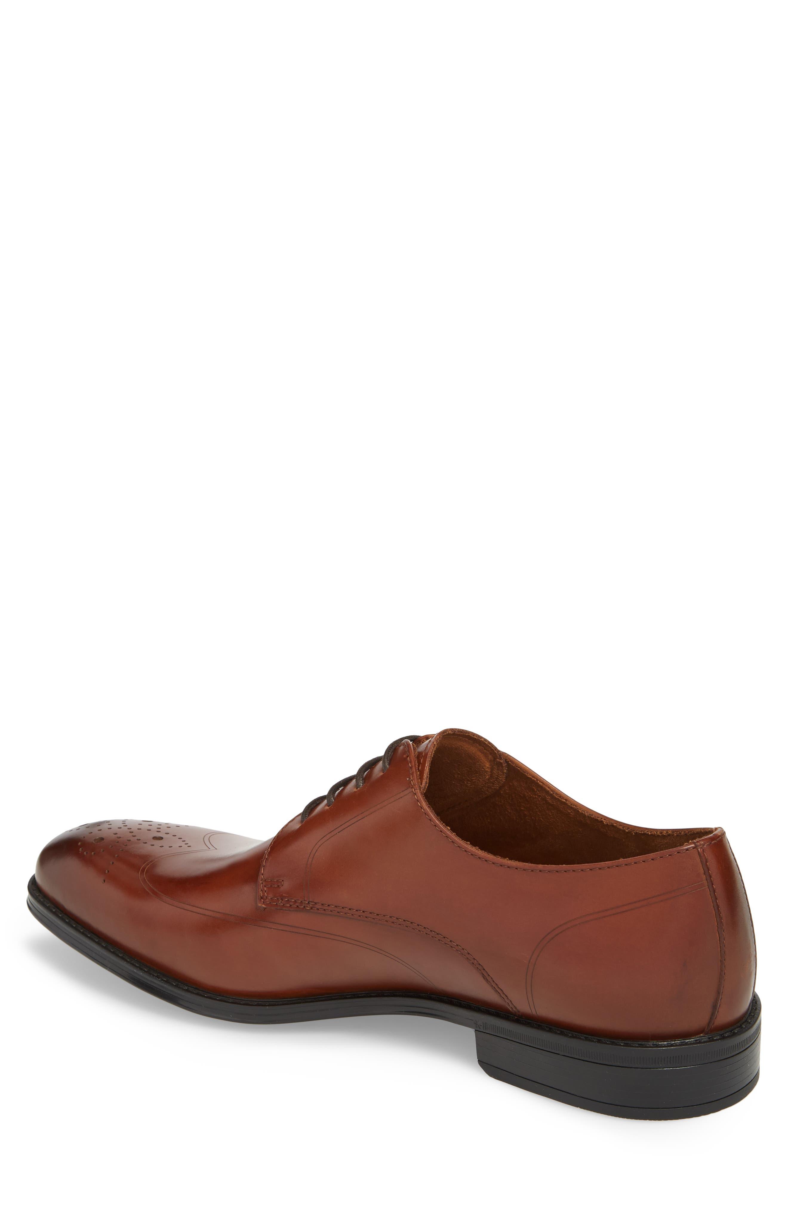 Kenneth Cole New York Men's Abbott Plain Toe Lace Up Oxford