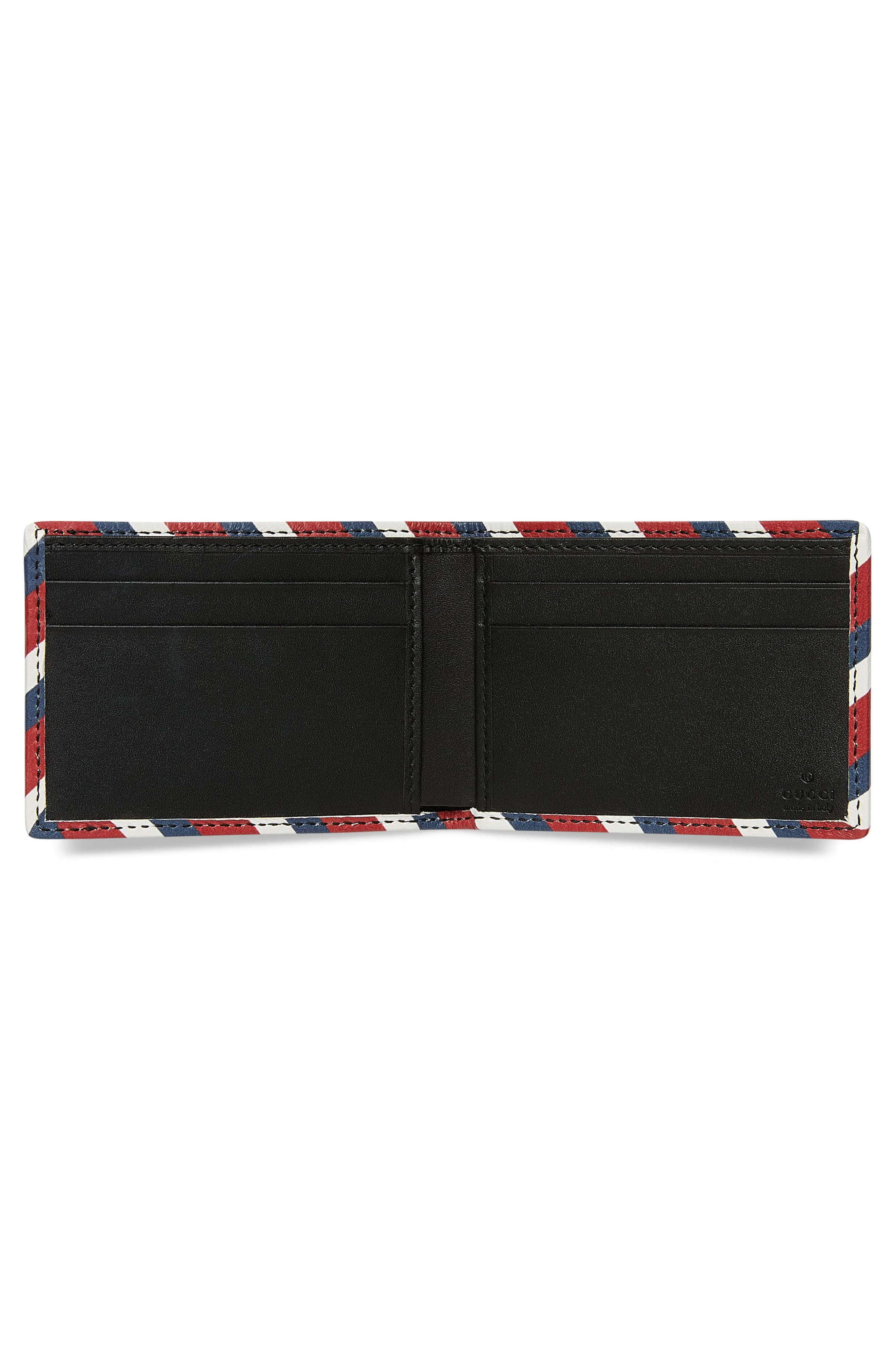 GG Supreme Patch Wallet,                             Alternate thumbnail 2, color,                             Black