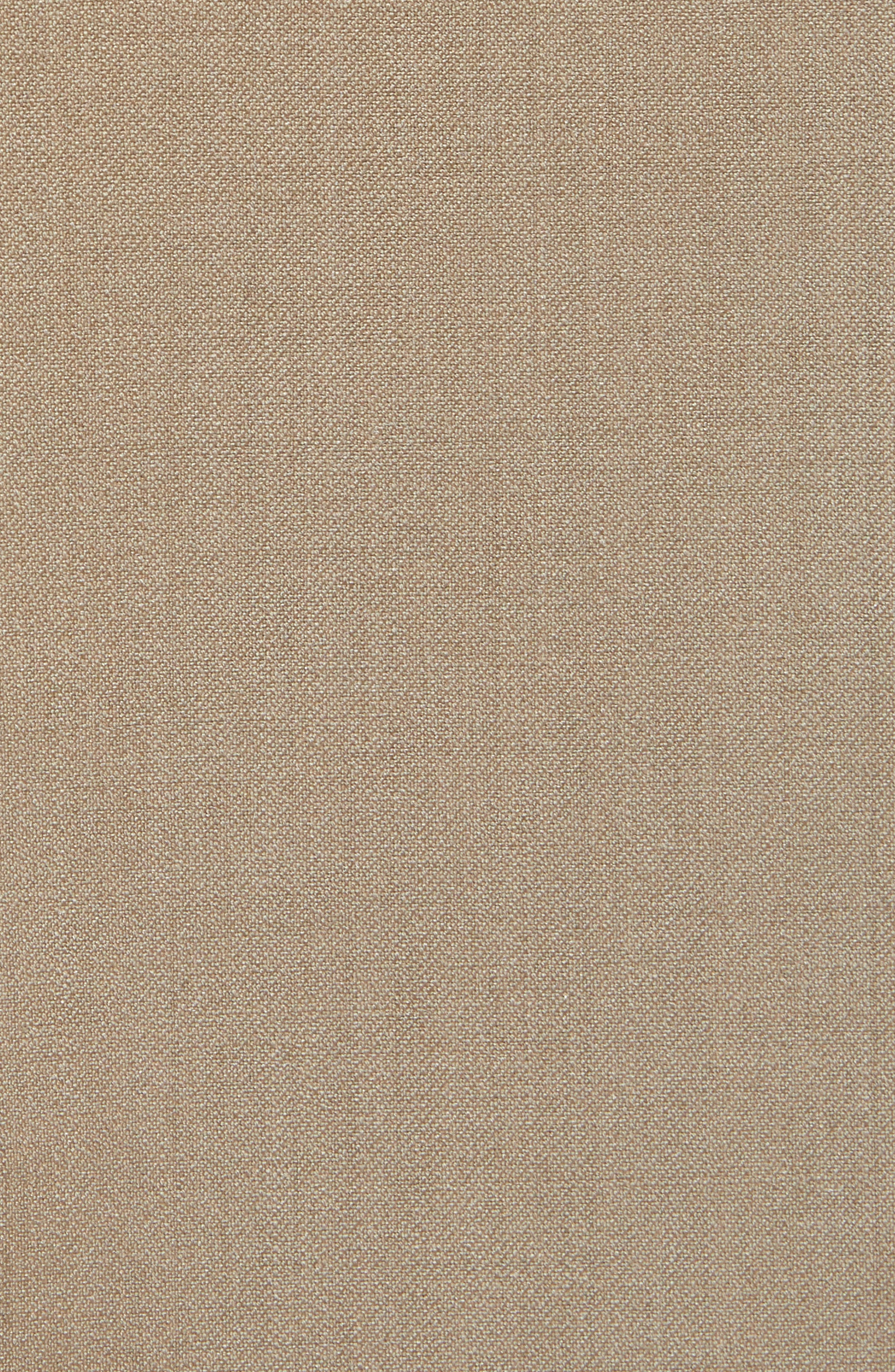 Flat Front Tech-Smart Extra Trim Trousers,                             Alternate thumbnail 5, color,                             Tan