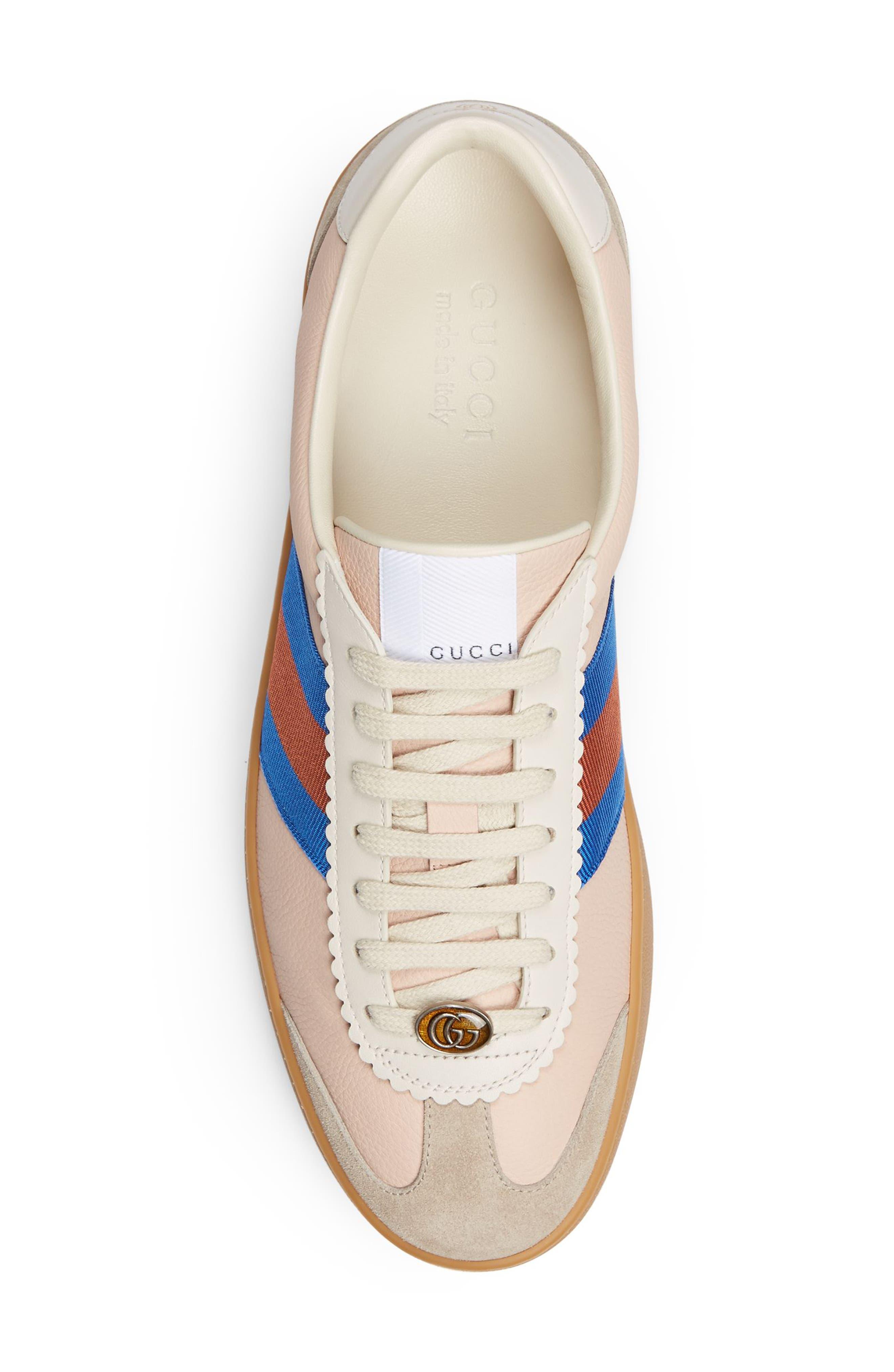 JBP Retro Gum Sole Sneaker,                             Alternate thumbnail 3, color,                             Oatmeal/ White