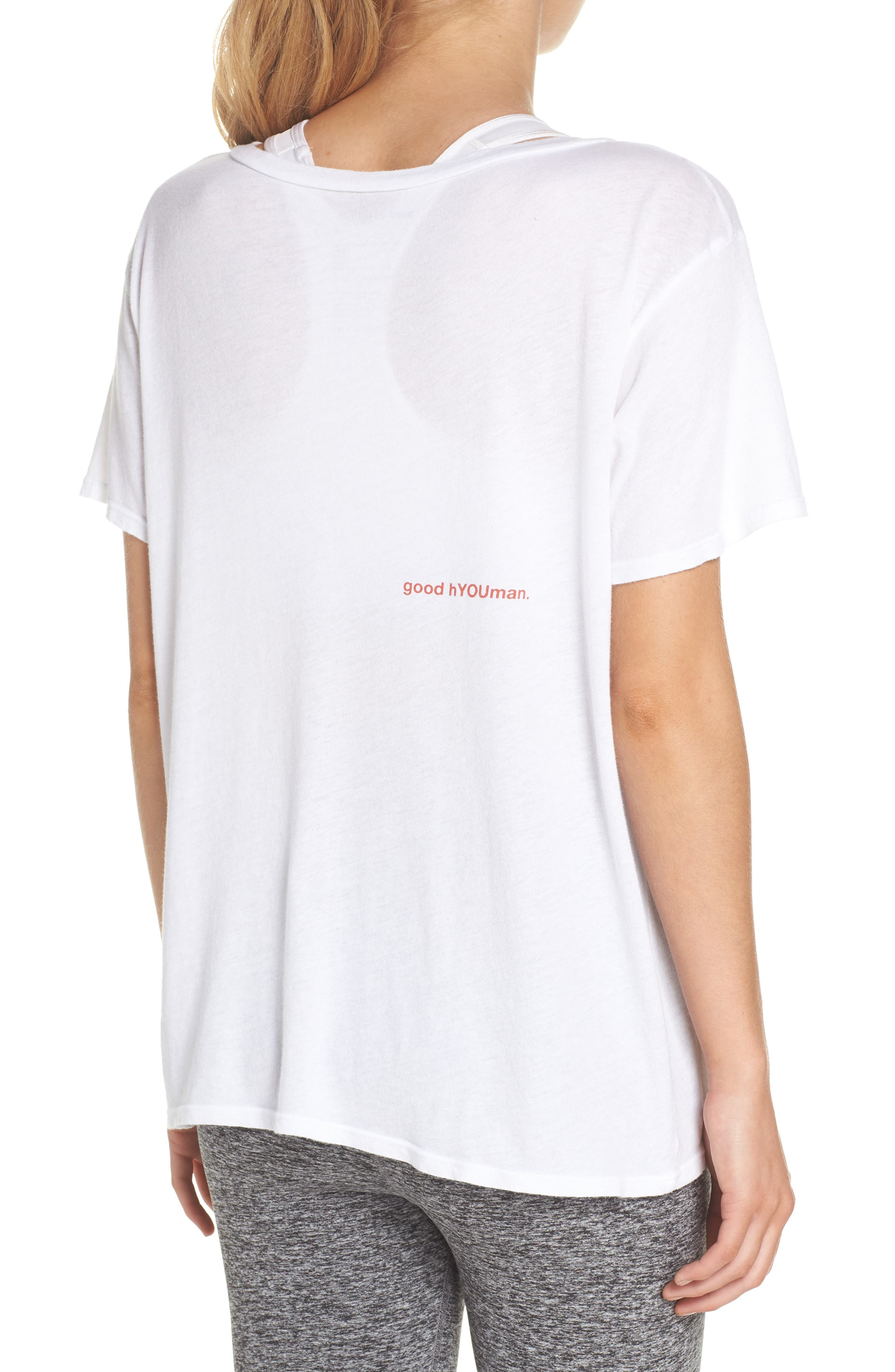 Aiden Pets Are People Tee,                             Alternate thumbnail 2, color,                             Optic White